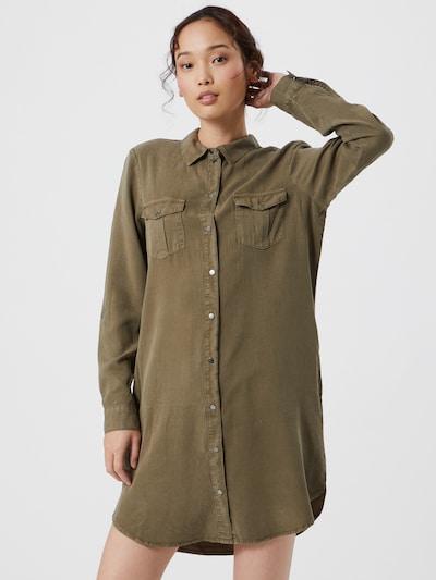 Vero Moda Silla kurzes Hemdkleid mit langen Ärmeln
