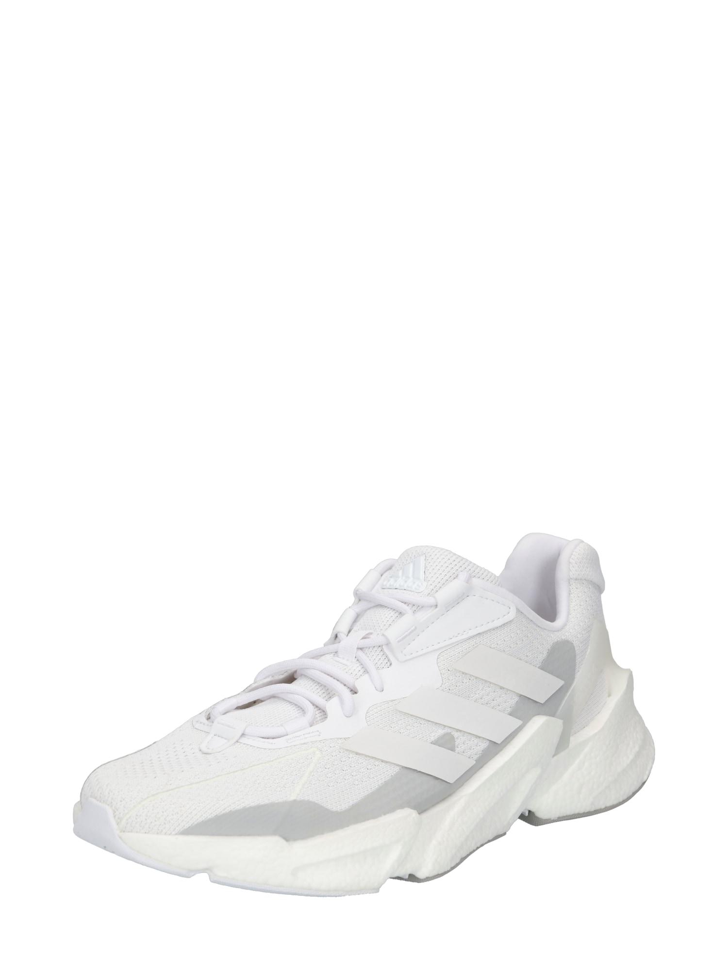 ADIDAS PERFORMANCE Bėgimo batai balta / pilka