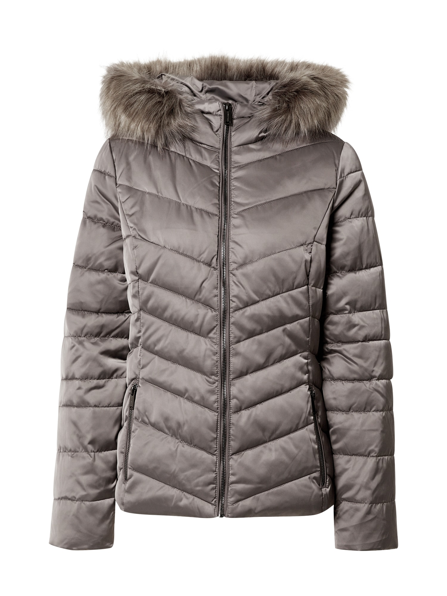 RINO & PELLE Zimní bunda  tmavě šedá
