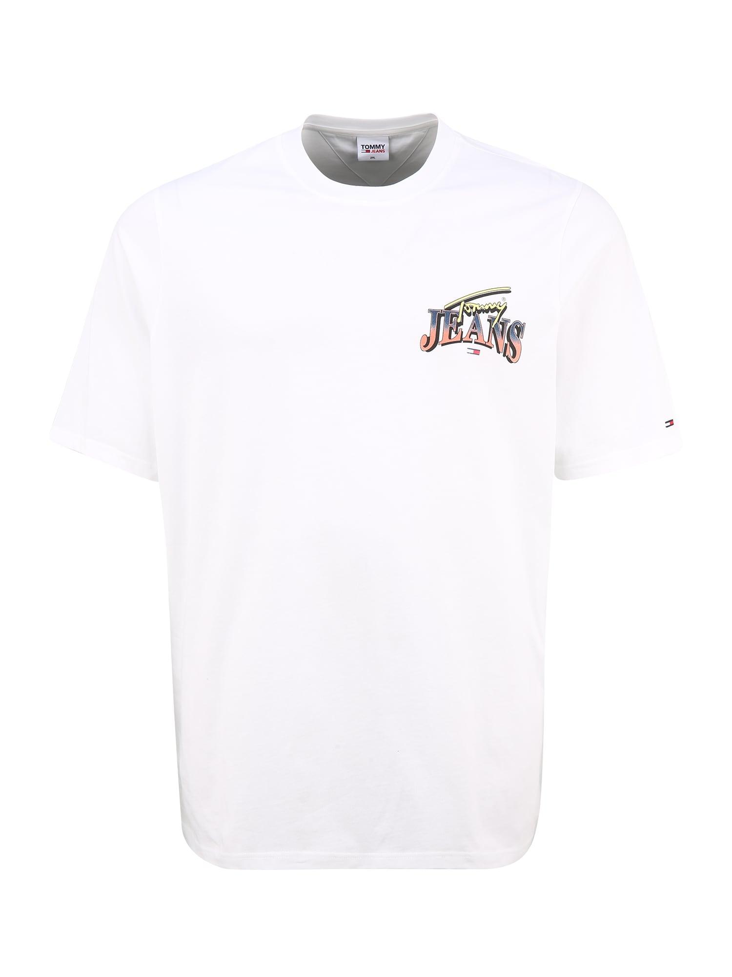 Tommy Jeans Plus Marškinėliai balta / mišrios spalvos