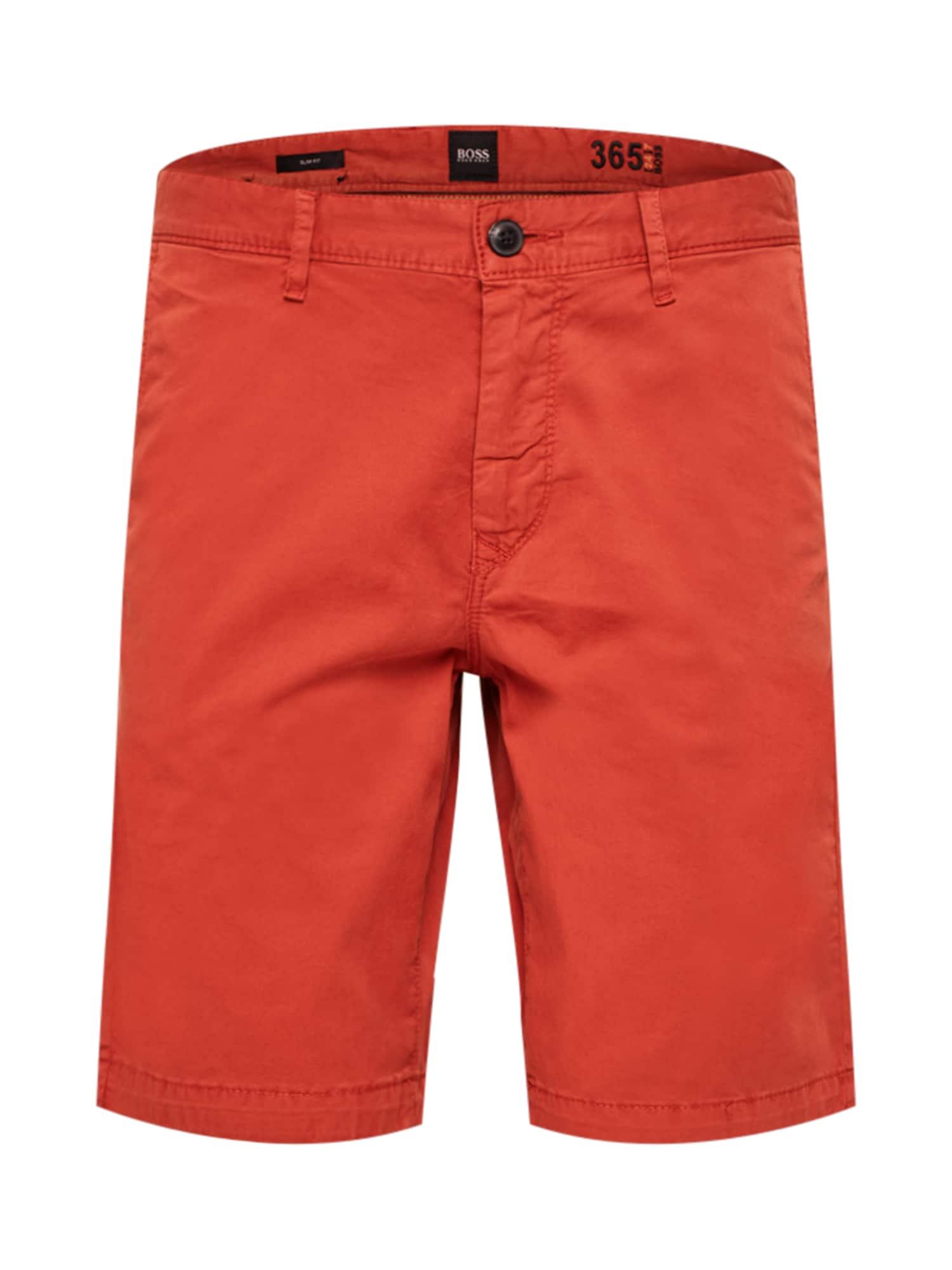 """BOSS """"Chino"""" stiliaus kelnės oranžinė-raudona"""