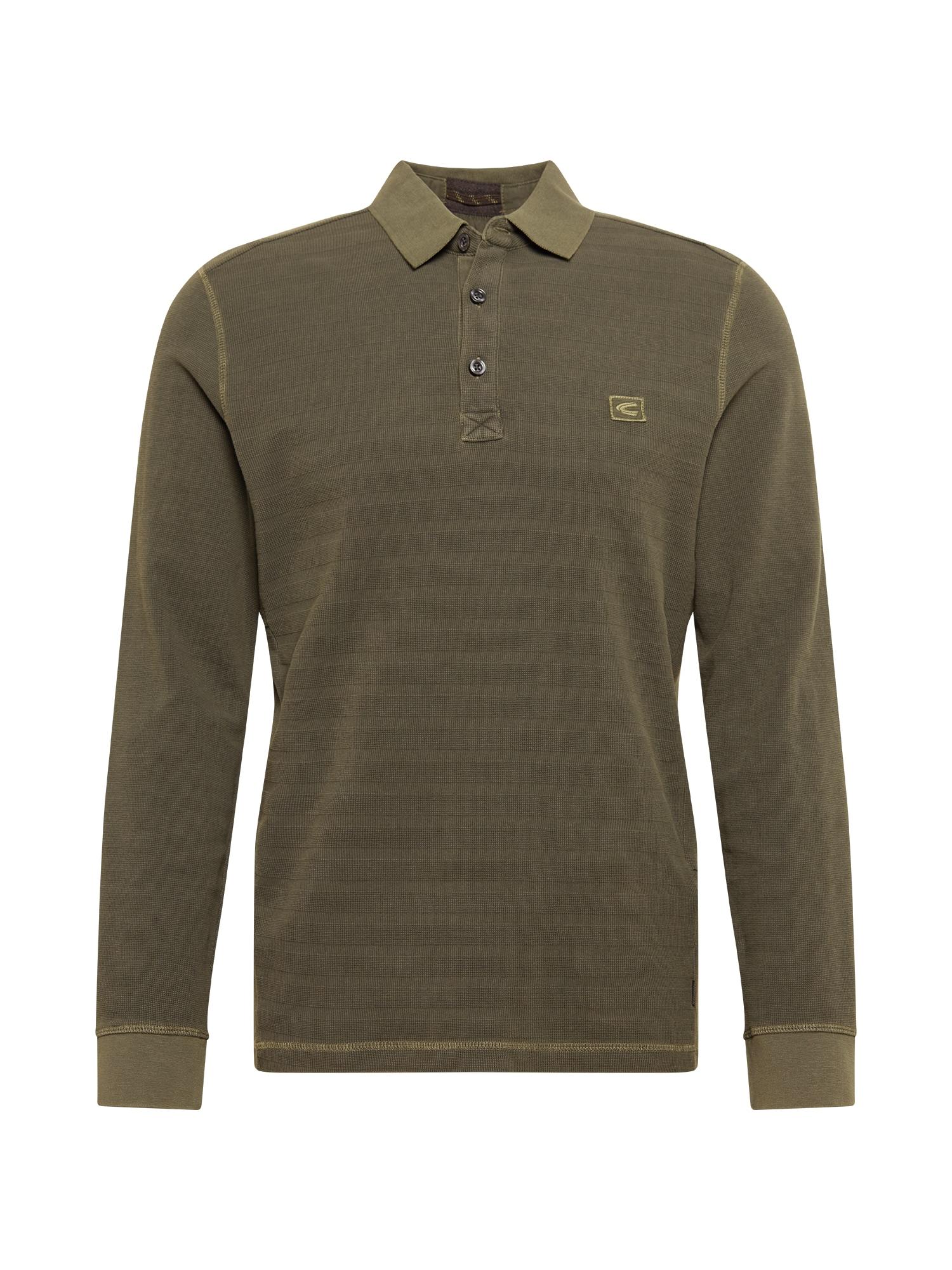 CAMEL ACTIVE Marškinėliai tamsiai žalia