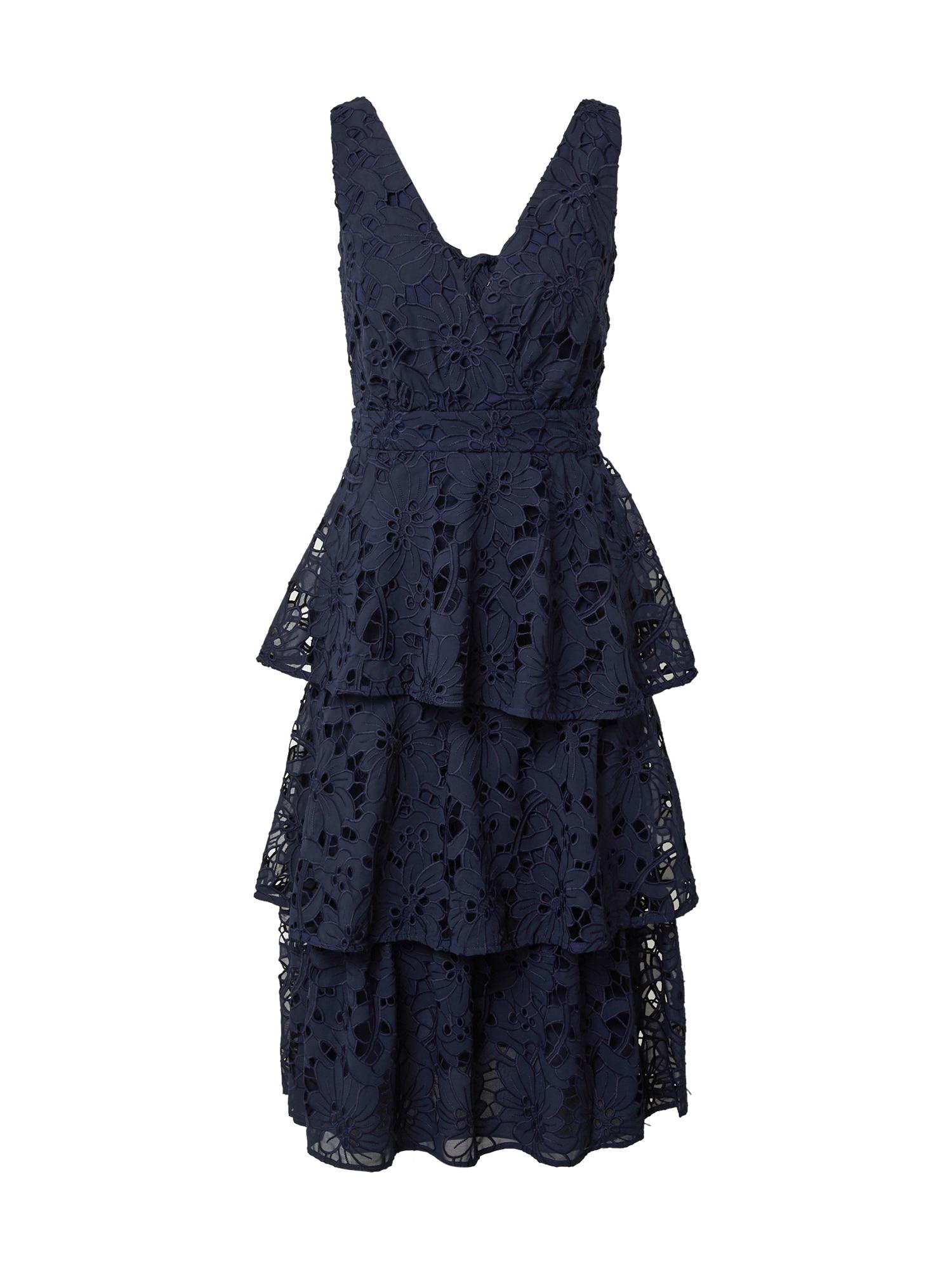 True Decadence Kokteilinė suknelė tamsiai mėlyna