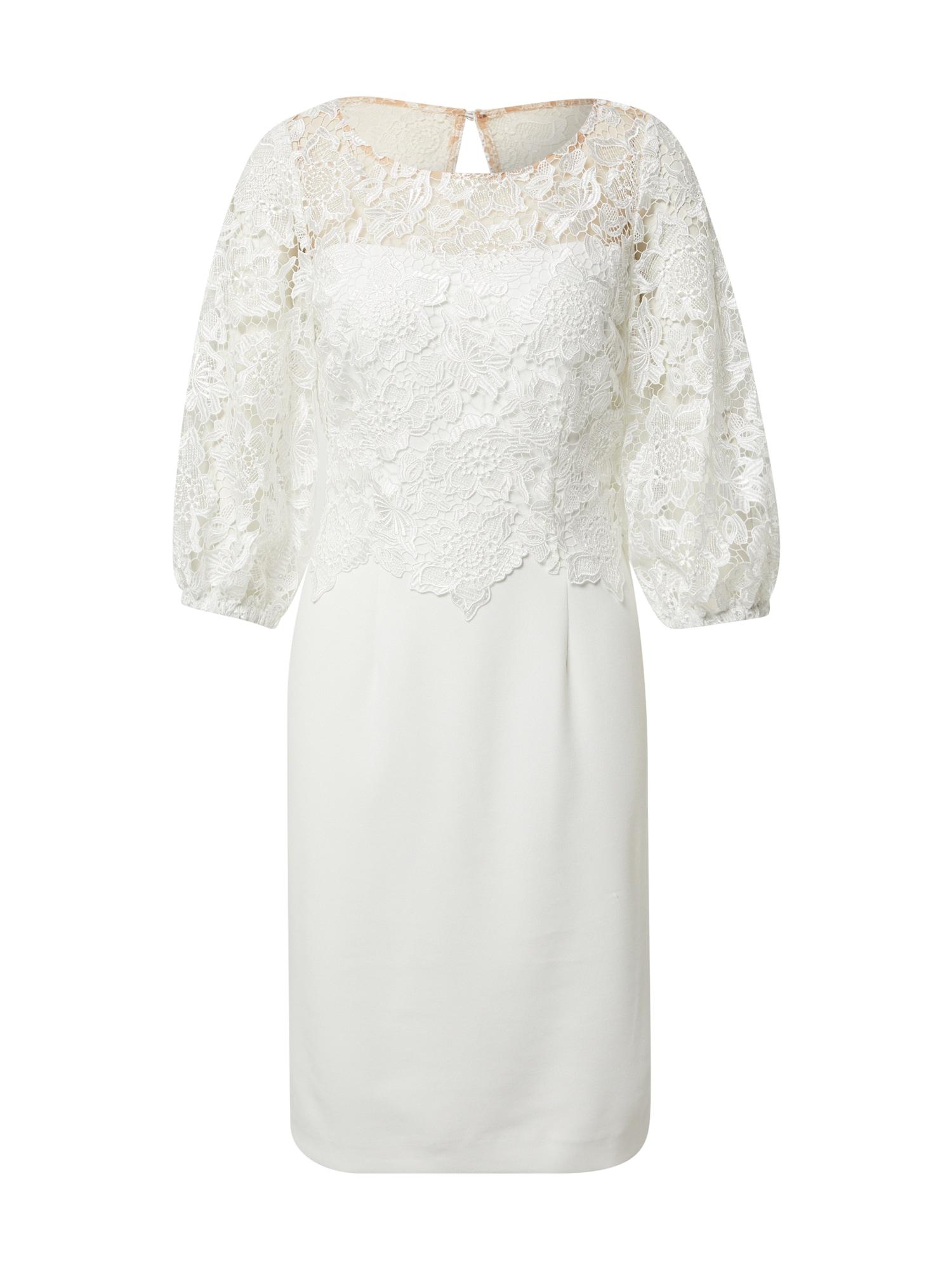 Vera Mont Kokteilinė suknelė balta