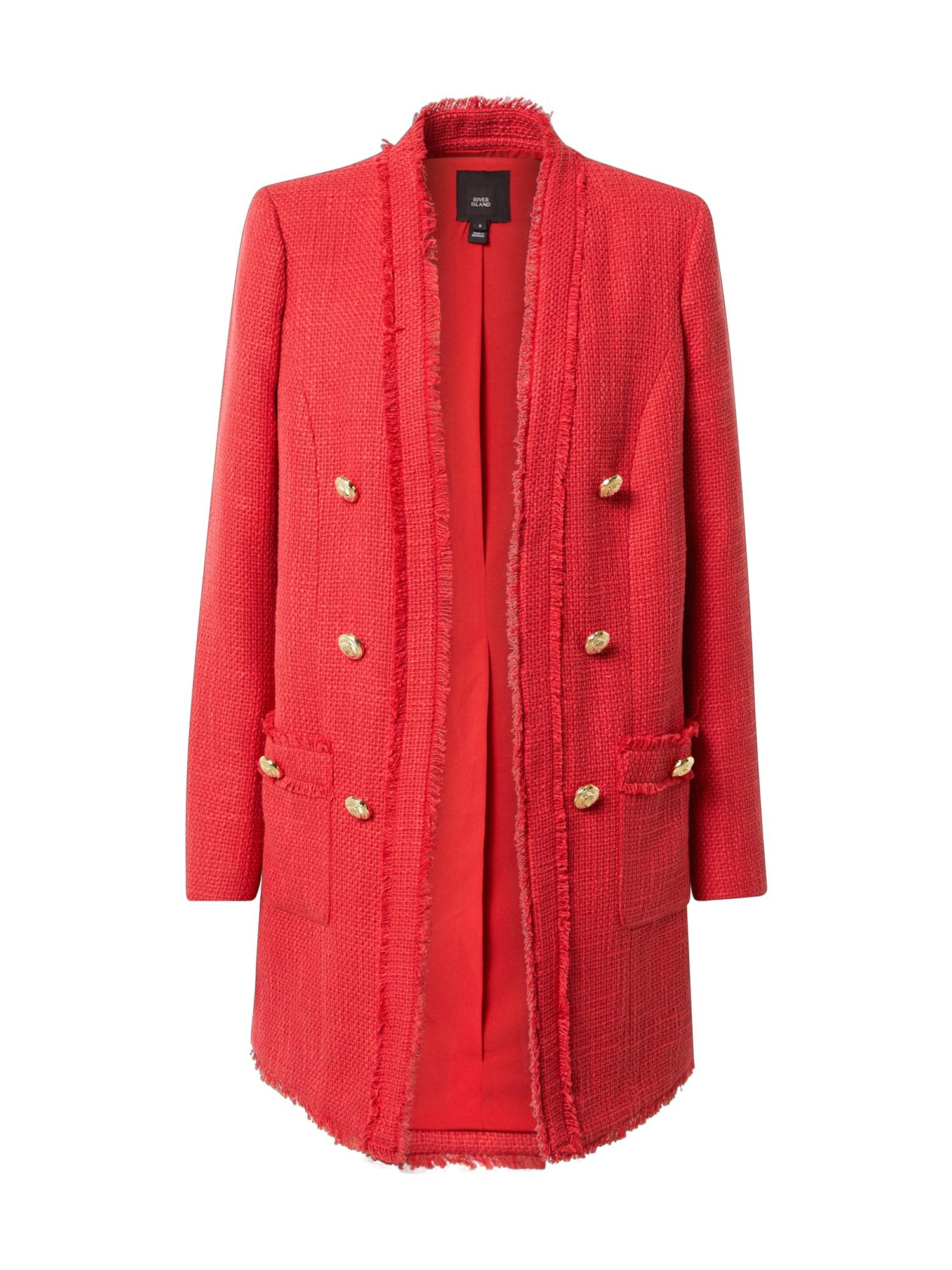 River Island Demisezoninis paltas raudona