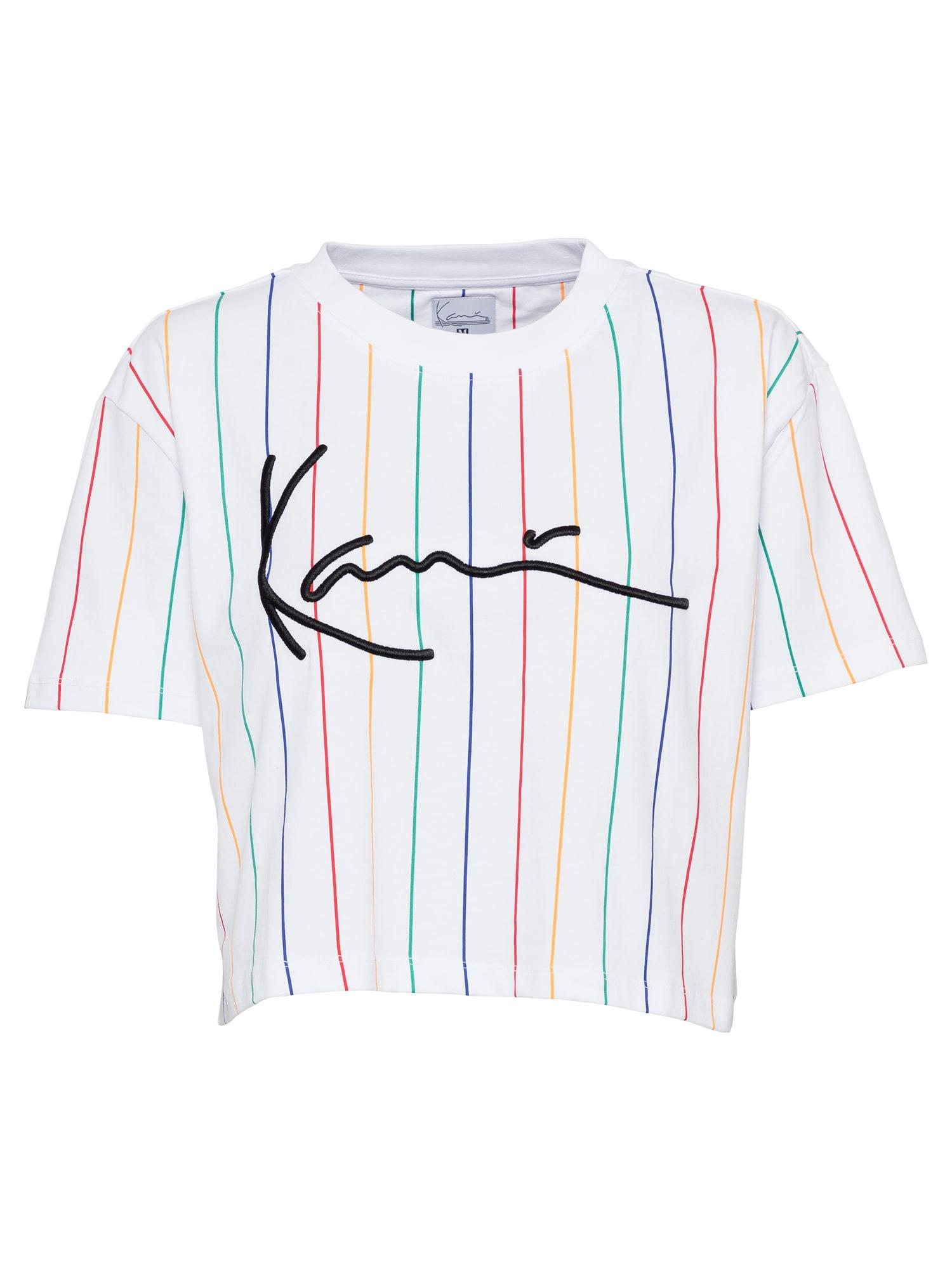 Karl Kani Marškinėliai balta / mišrios spalvos