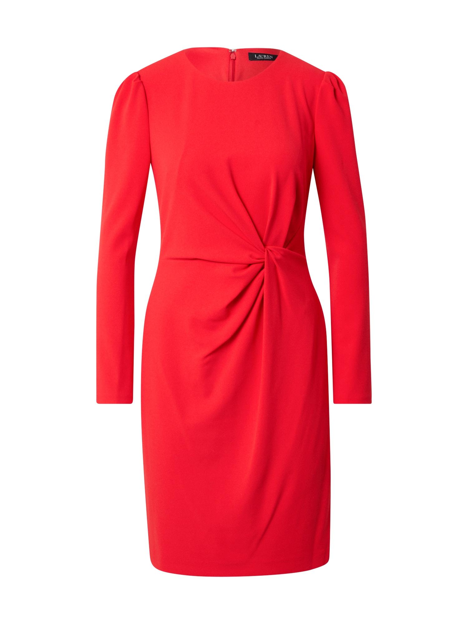 Lauren Ralph Lauren Šaty 'FURMAN'  karmínově červené
