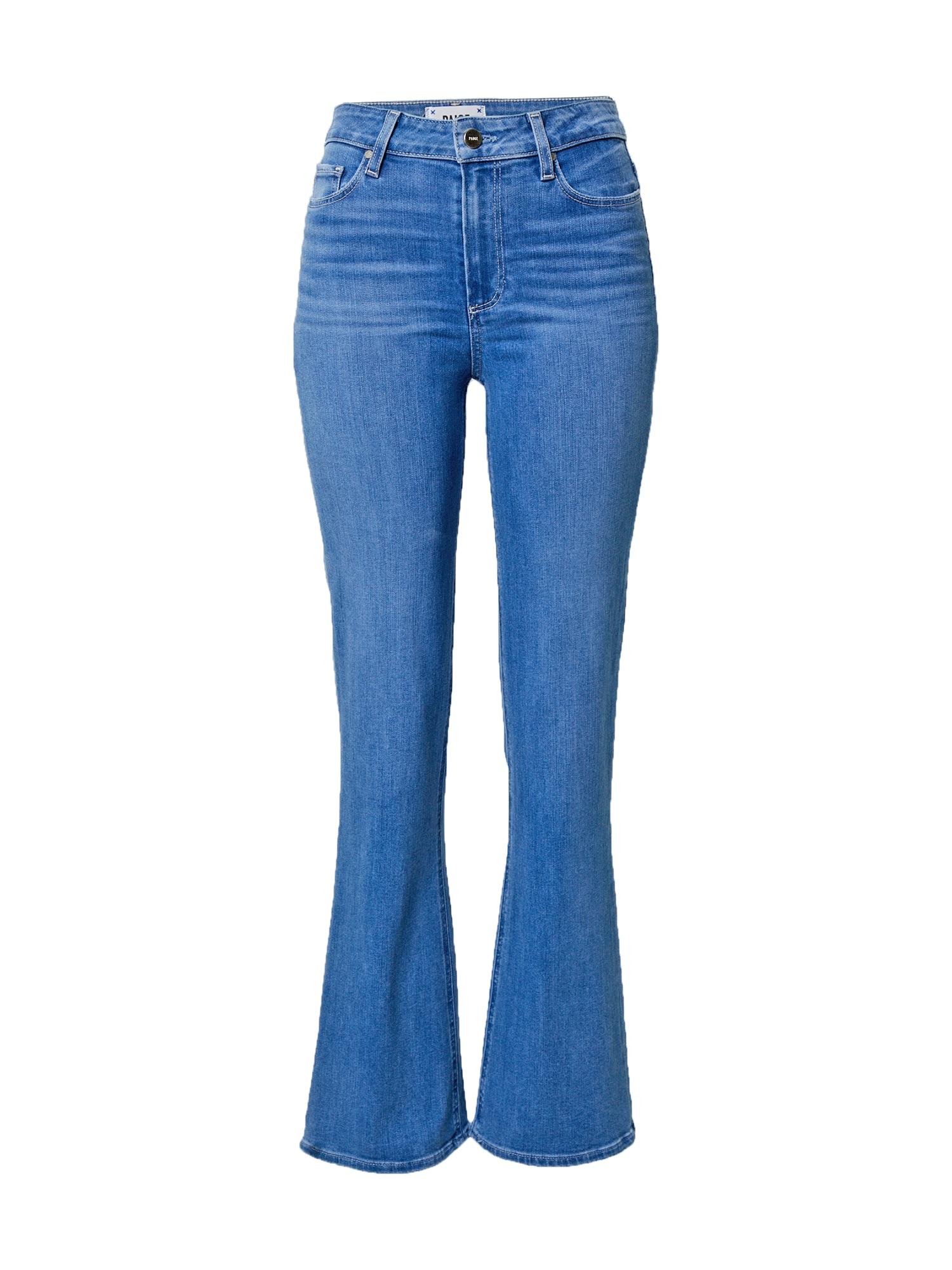 PAIGE Džinsai tamsiai (džinso) mėlyna