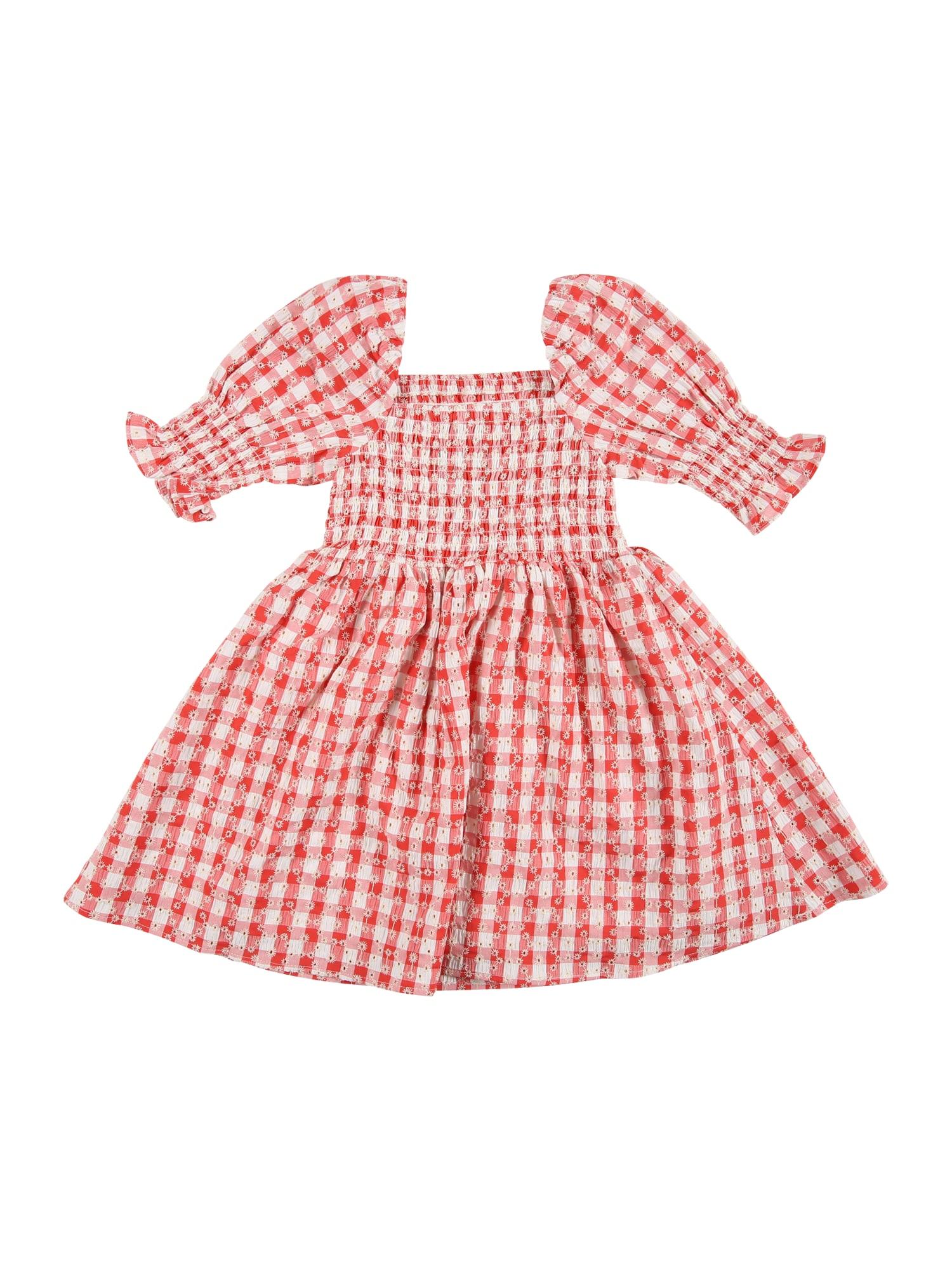 Bardot Junior Suknelė šviesiai raudona / balta