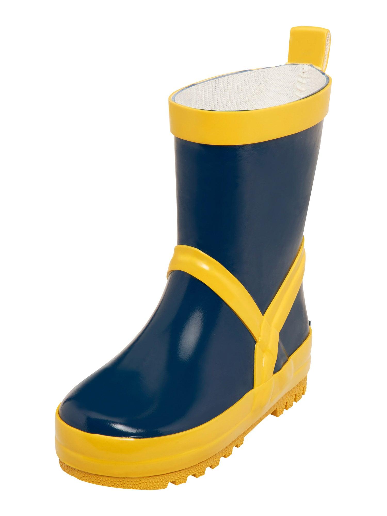 PLAYSHOES Guminiai batai tamsiai mėlyna / geltona