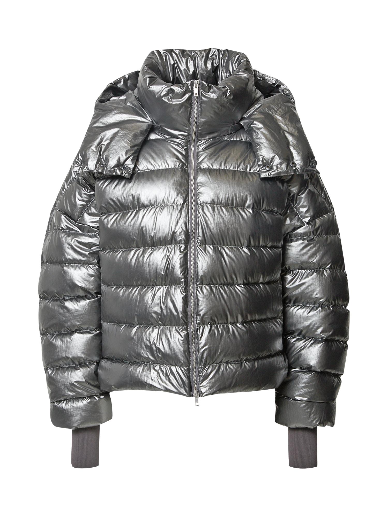 JNBY Zimní bunda  stříbrná