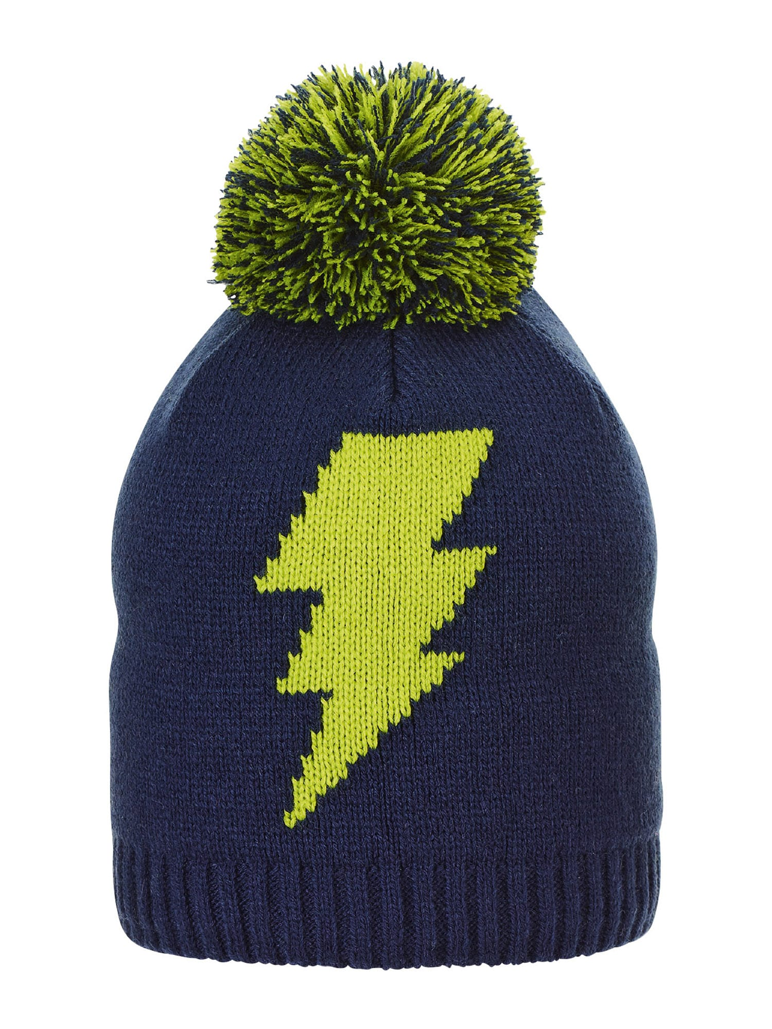 STERNTALER Megzta kepurė tamsiai mėlyna jūros spalva / žalia