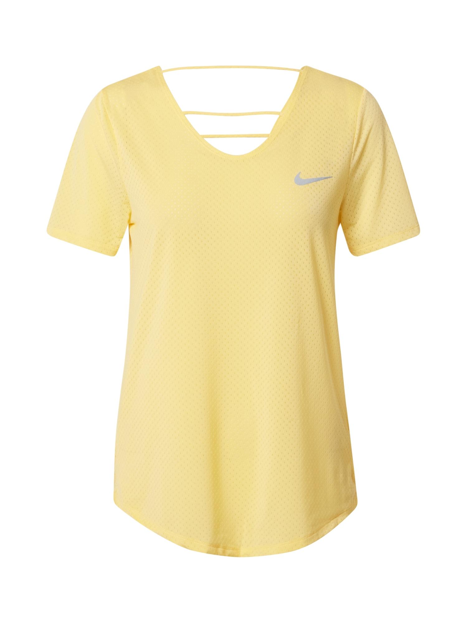 NIKE Funkční tričko  žlutá