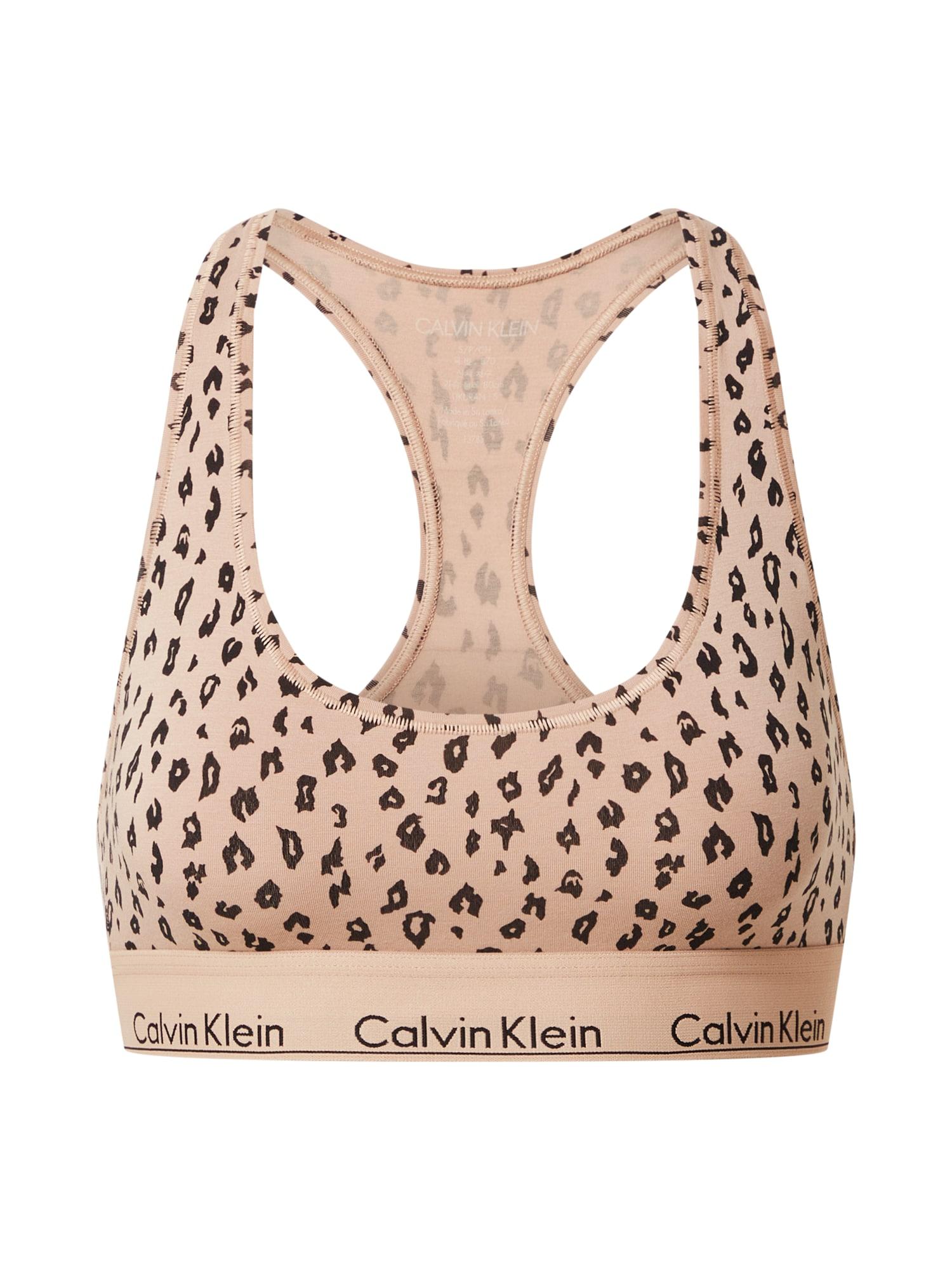 Calvin Klein Underwear Kelnės su tradiciniais raštais kremo