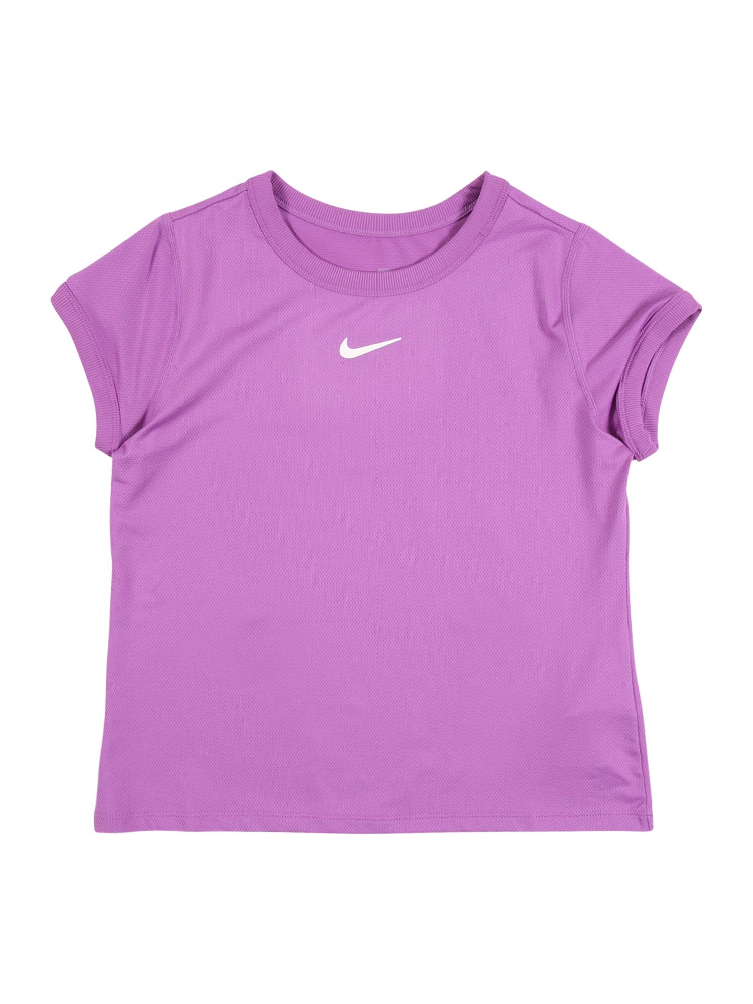 NIKE Sportiniai marškinėliai purpurinė