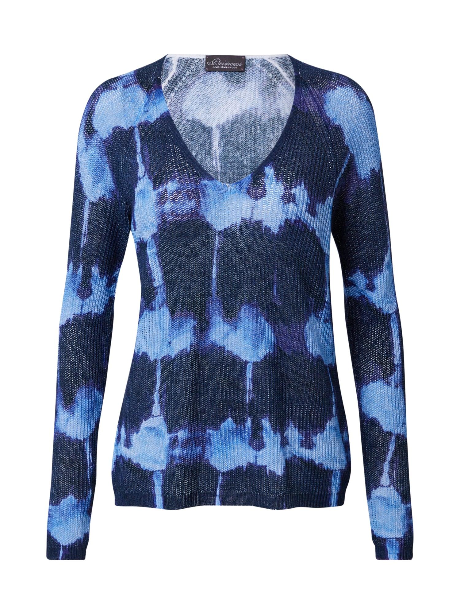 PRINCESS GOES HOLLYWOOD Megztinis neoninė mėlyna / tamsiai mėlyna jūros spalva / šviesiai violetinė