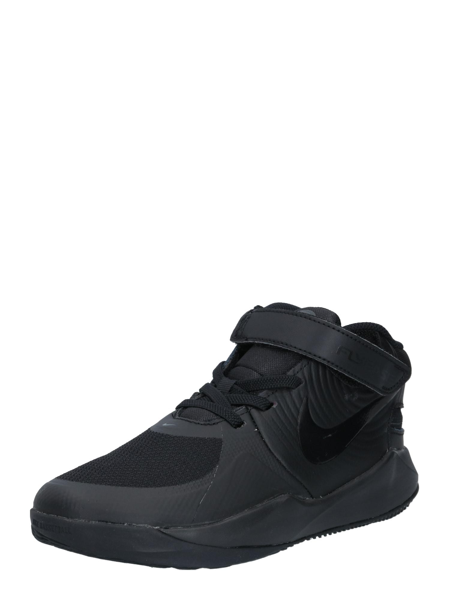 NIKE Sportiniai batai 'Hustle D 9 FlyEase' juoda