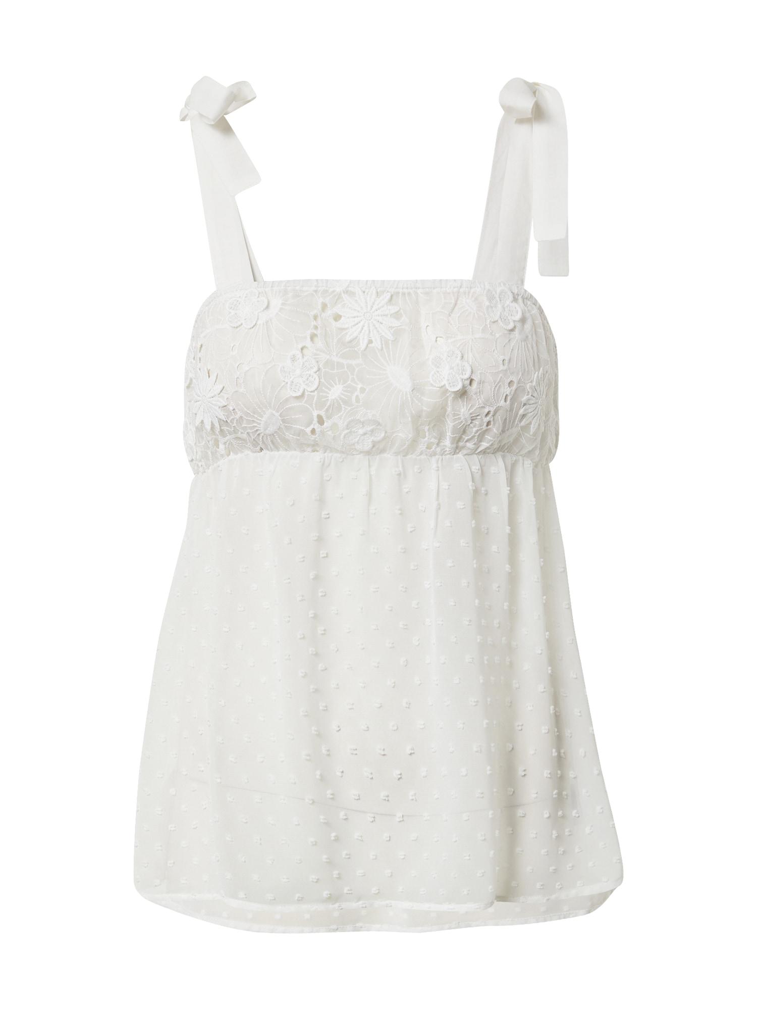 ETAM Pižaminiai marškinėliai balta