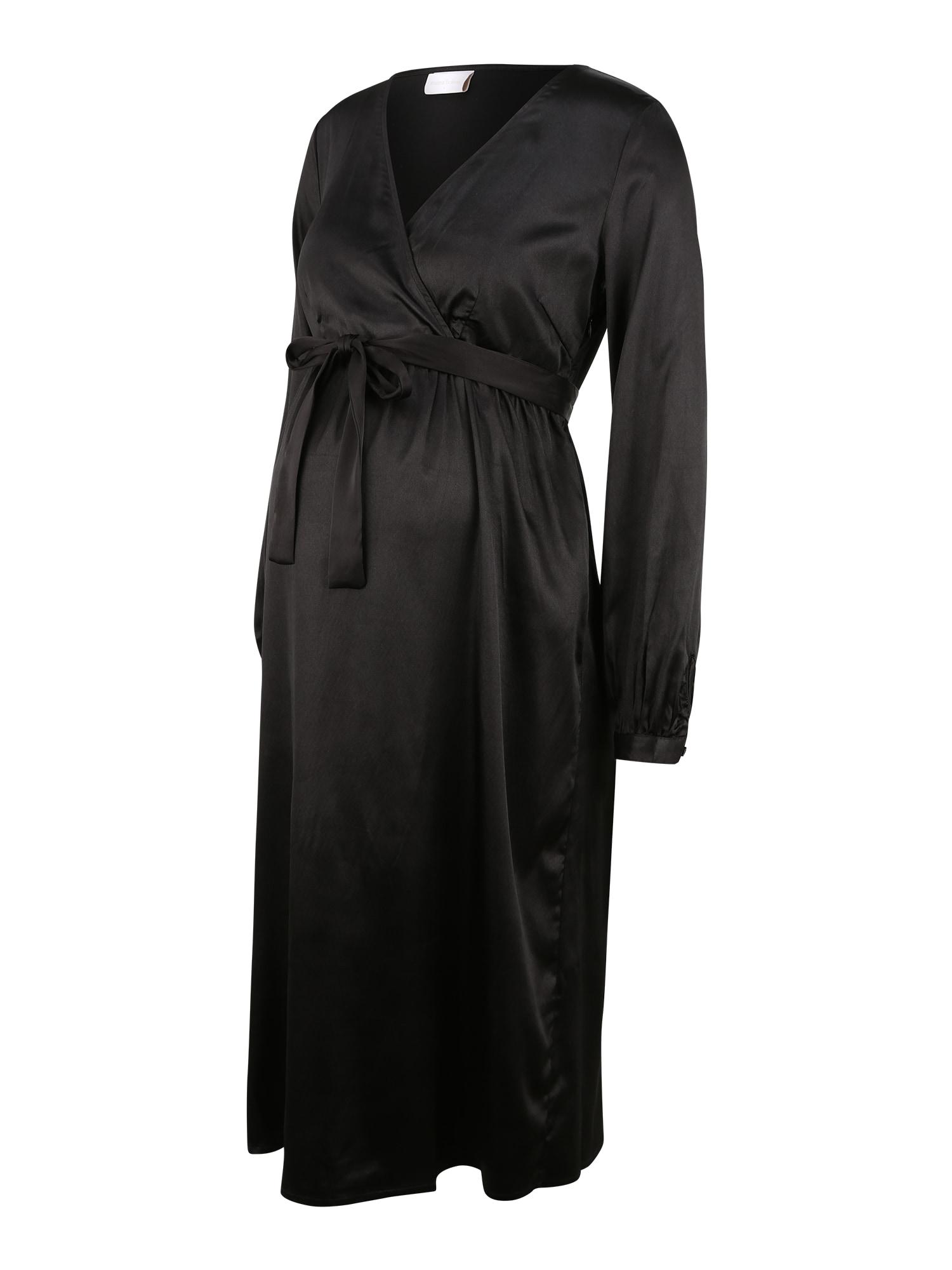 MAMALICIOUS Suknelė 'Shelby' juoda