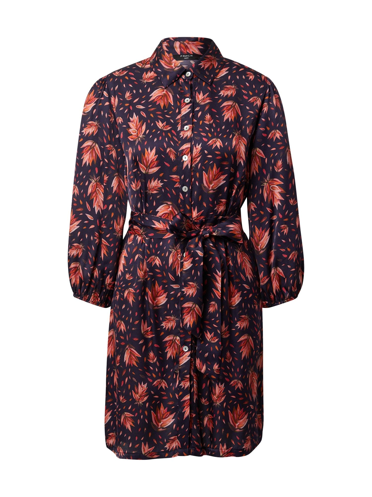 FRNCH PARIS Palaidinės tipo suknelė raudona / juoda