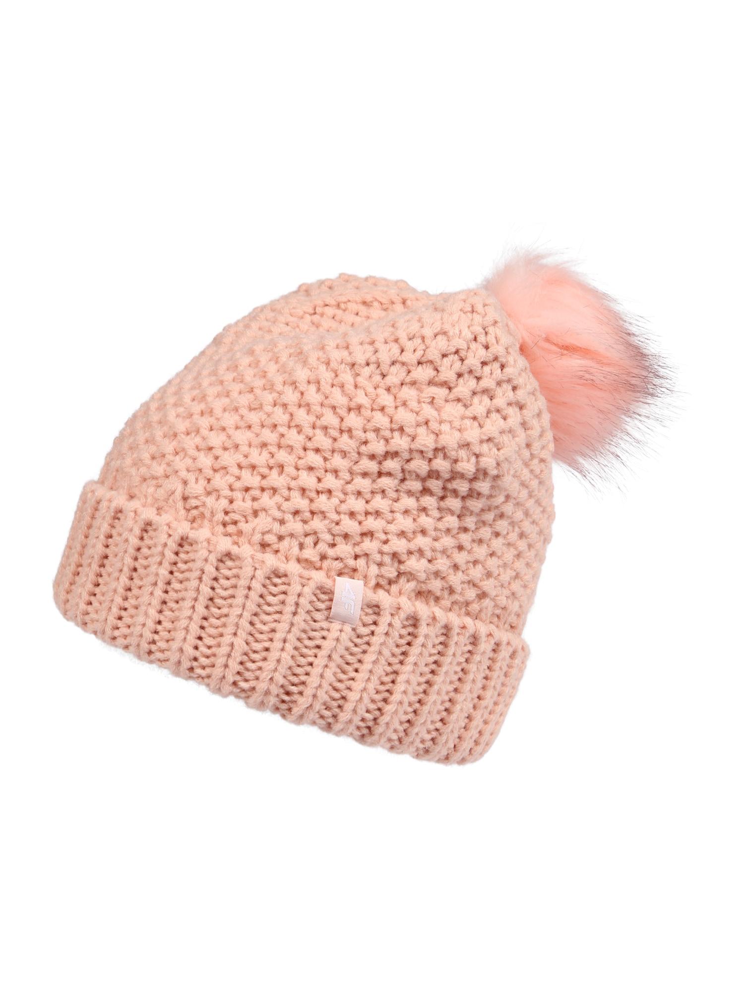 4F Sportinė kepurė šviesiai rožinė