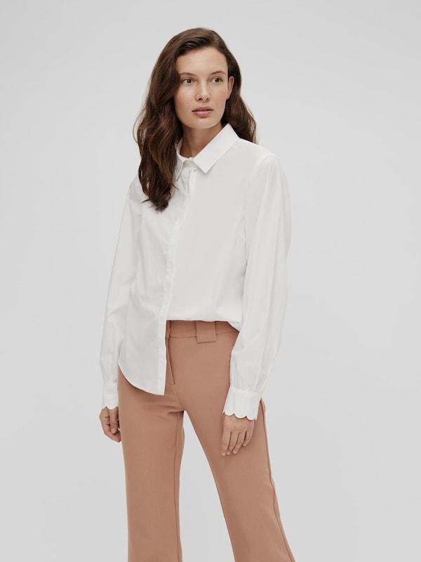 Yas Bella Button-down-Hemd mit langen Ärmeln