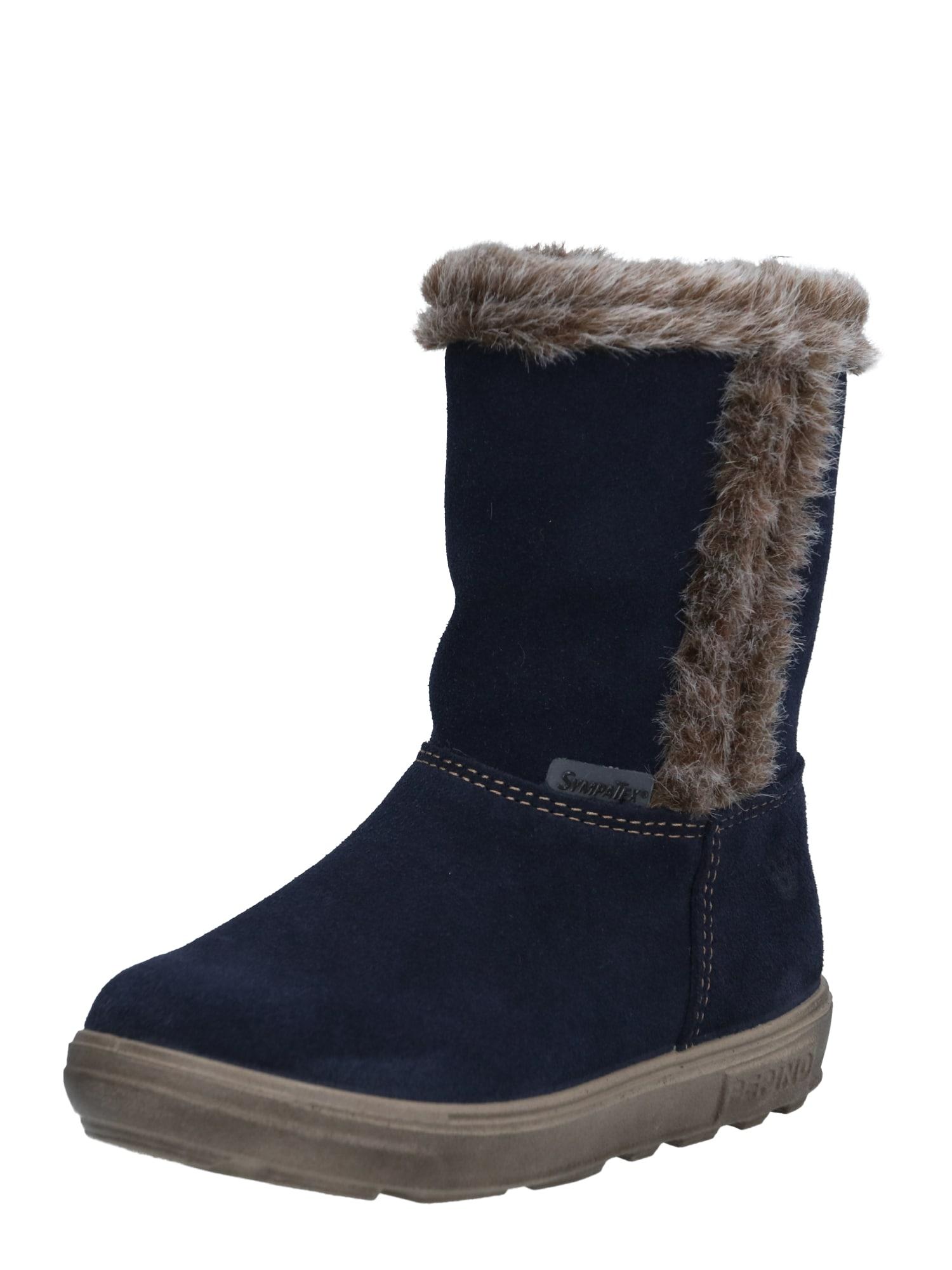 Pepino Sniego batai nakties mėlyna / ruda