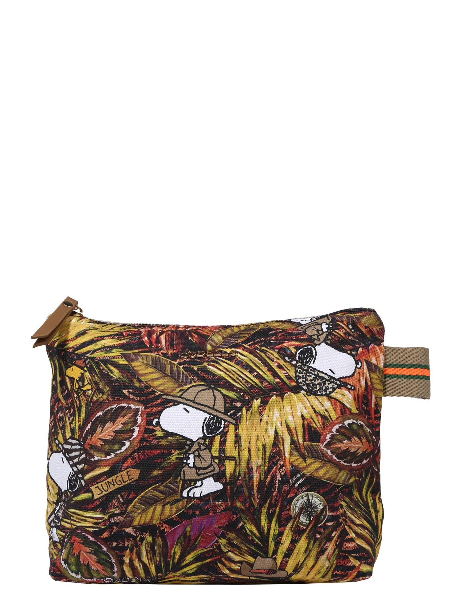 CODELLO Tualeto reikmenų / kosmetikos krepšys 'PEANUTS' mišrios spalvos