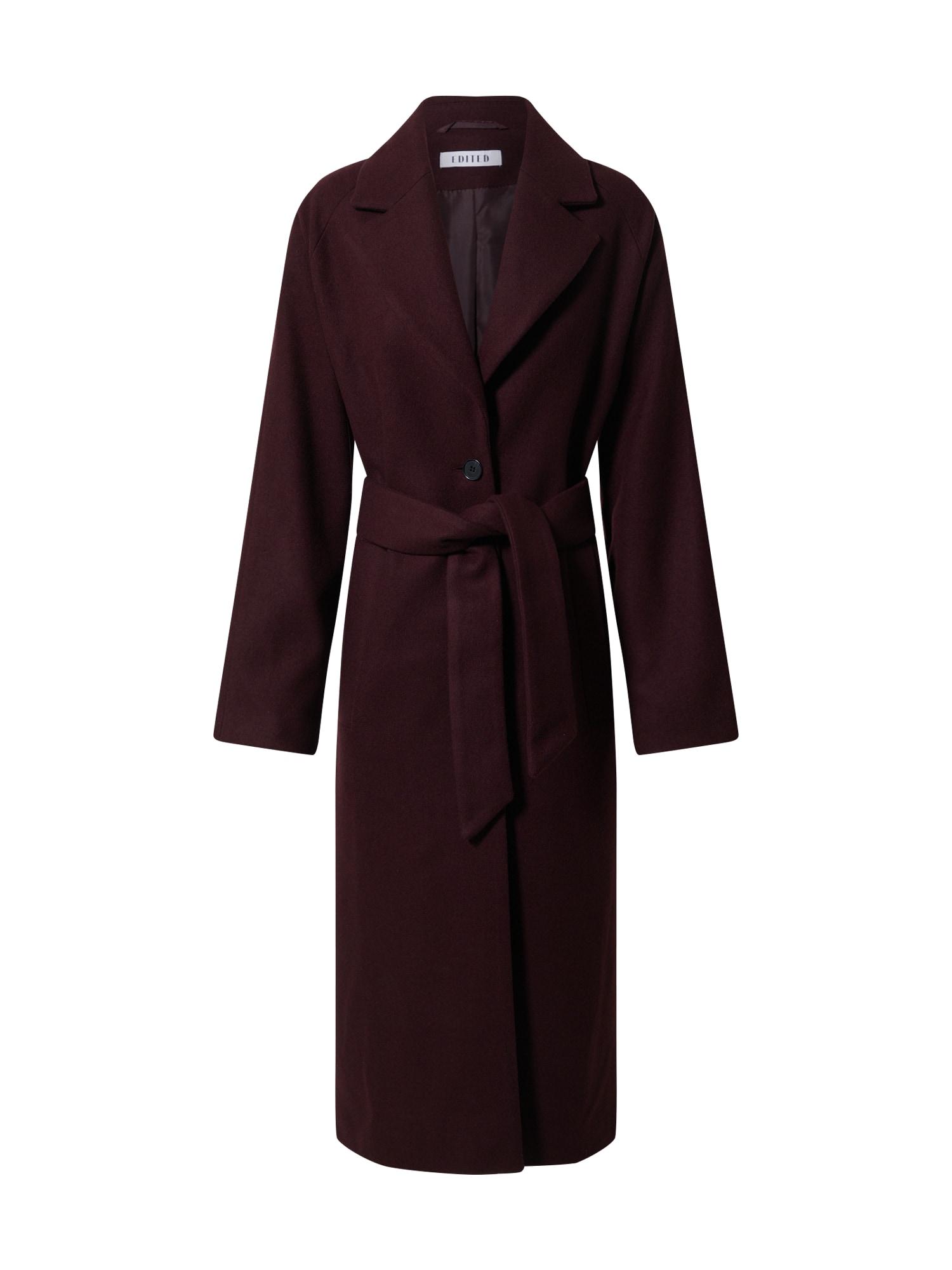 EDITED Demisezoninis paltas 'Cecilia' raudona