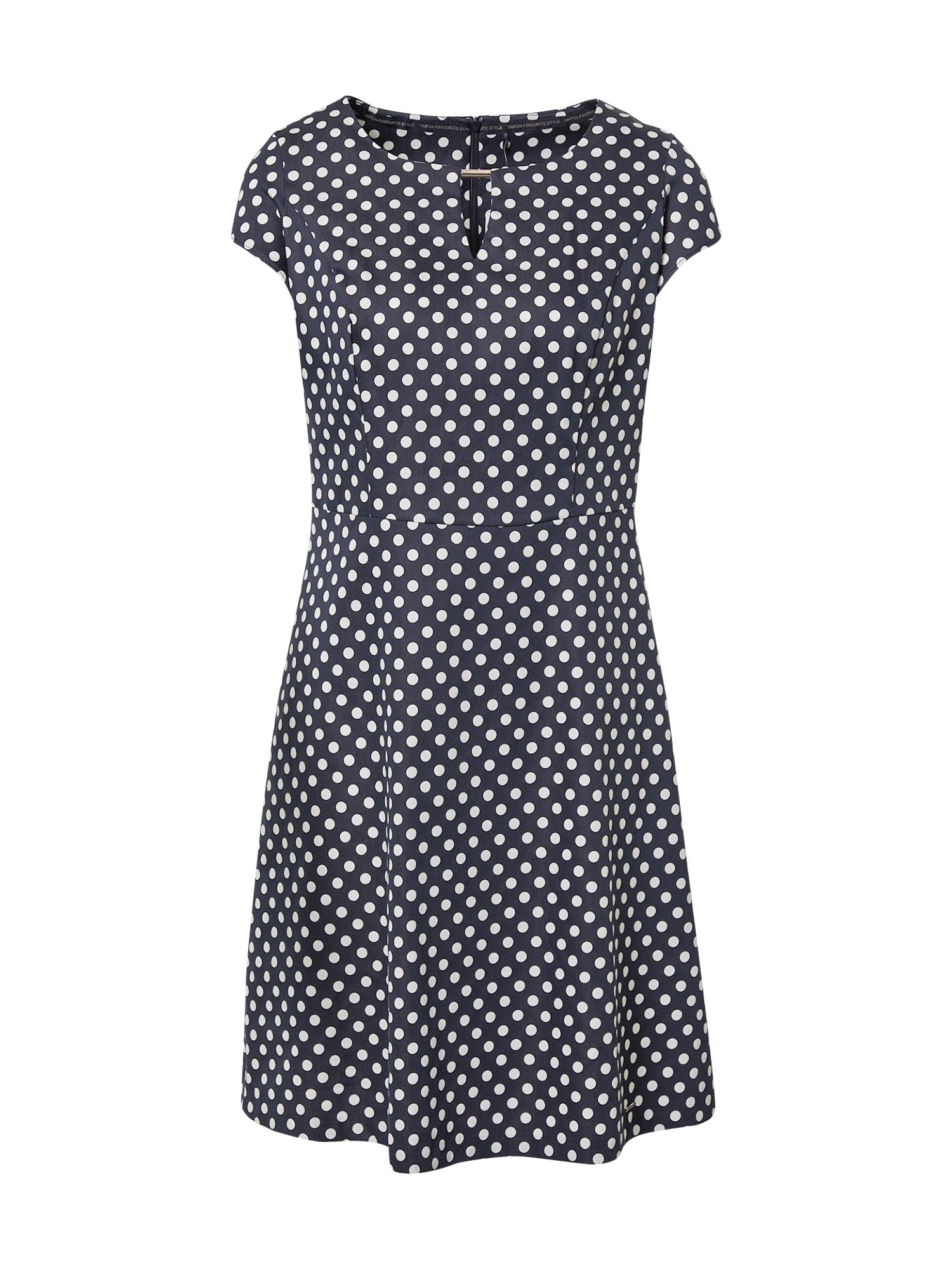 TAIFUN Suknelė tamsiai mėlyna / balta