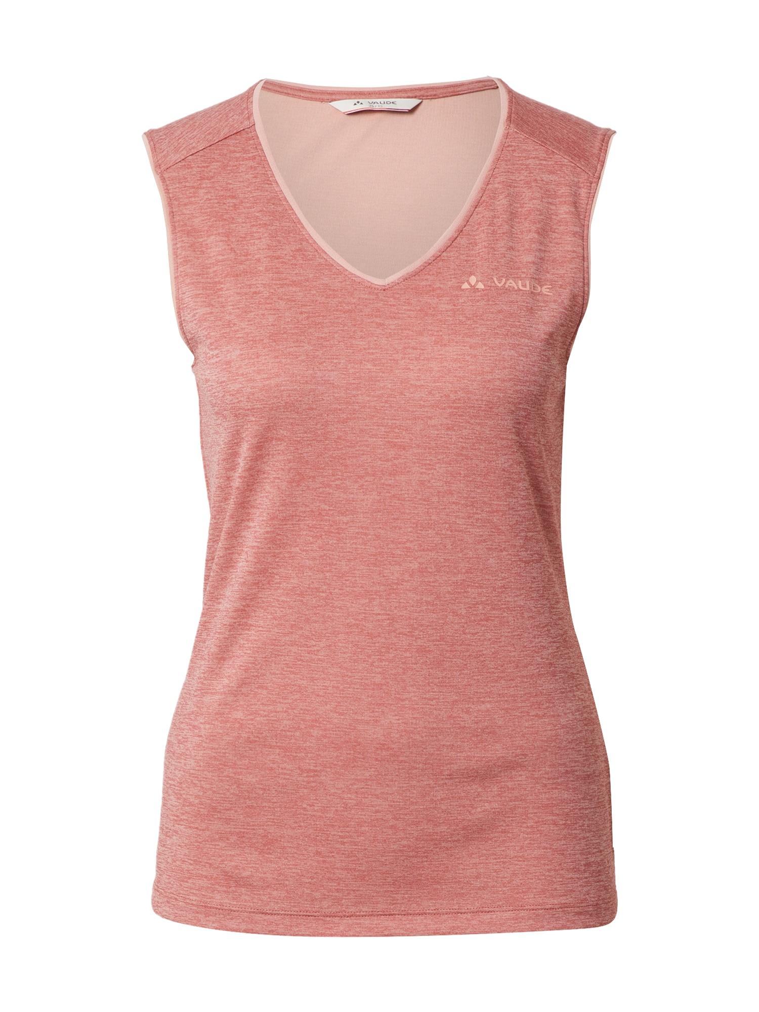 VAUDE Sportiniai marškinėliai be rankovių rožinė
