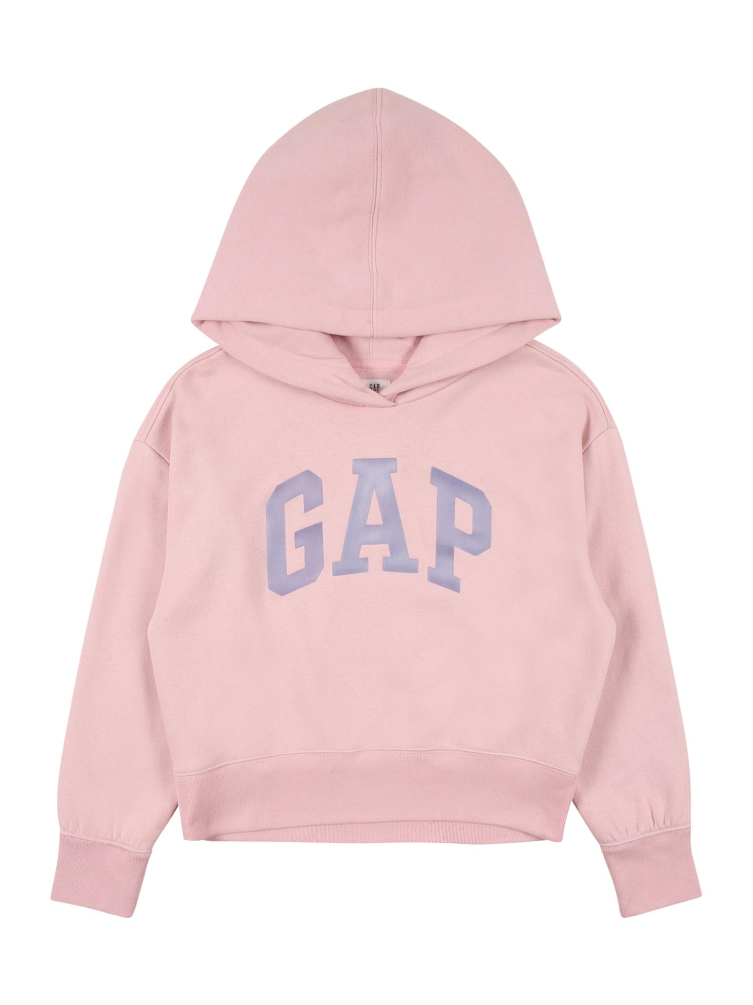GAP Megztinis be užsegimo rožinė / pilka