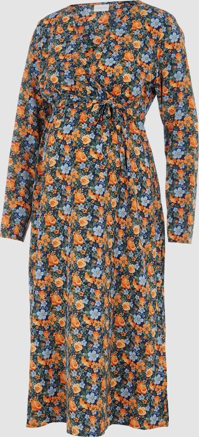 Mama.Licious Siga Langärmeliges, gewebtes Midi-Kleid mit Blumenmotiv