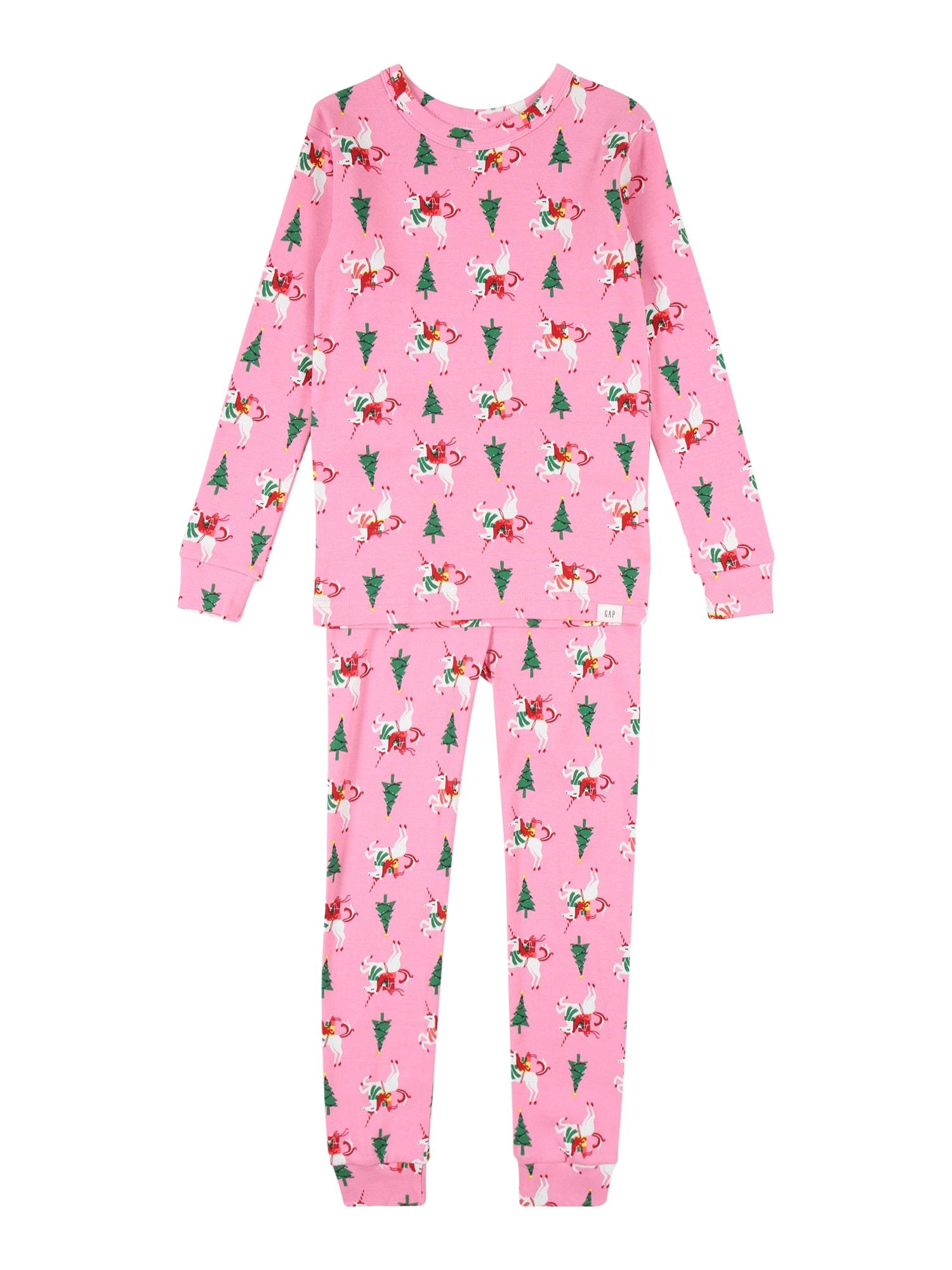 GAP Miego kostiumas rožinė / mišrios spalvos