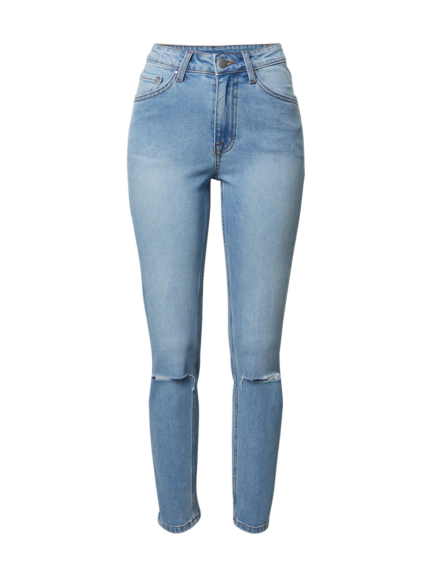 VIERVIER Džinsai 'Isabell' tamsiai (džinso) mėlyna