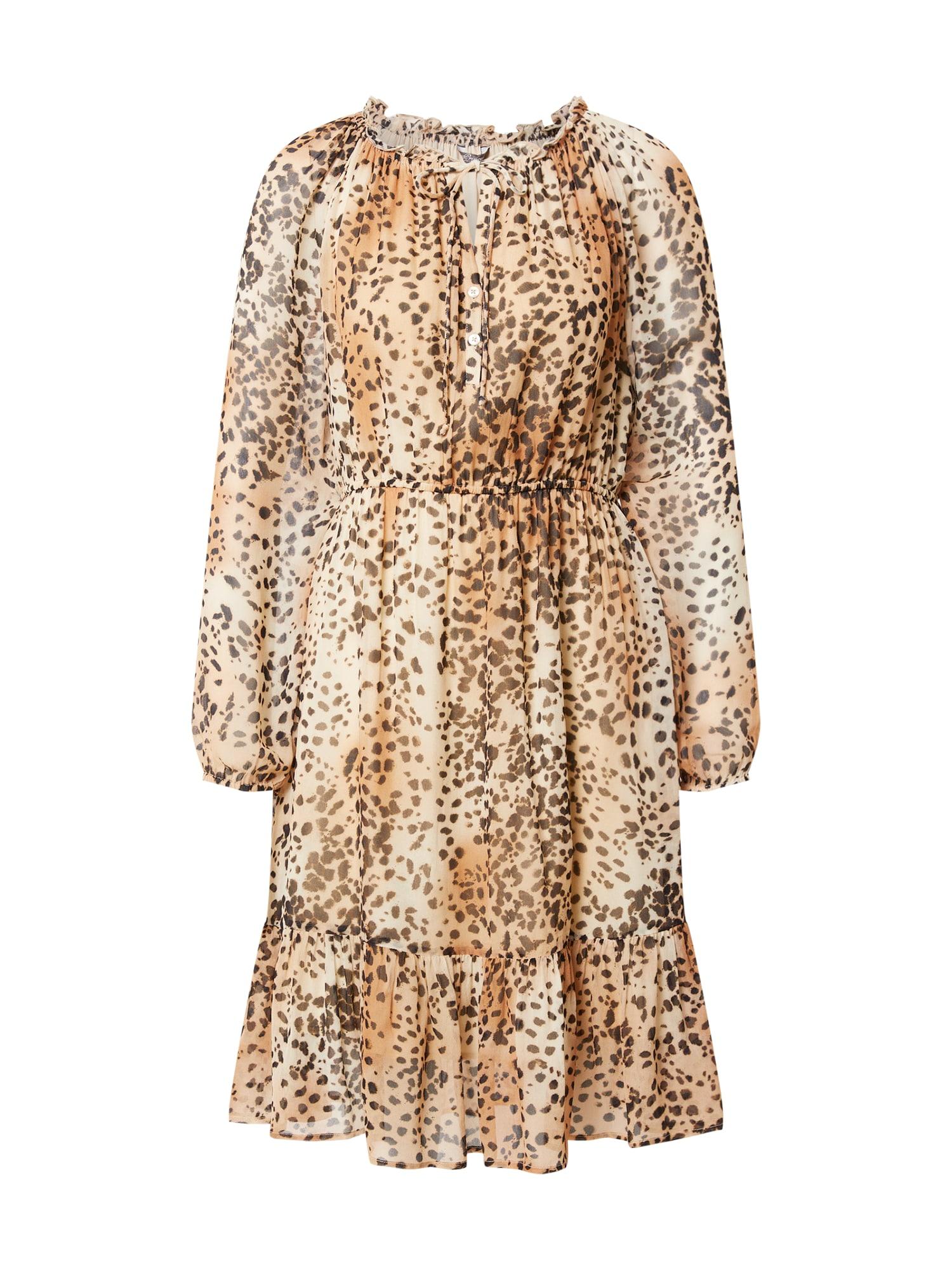 PRINCESS GOES HOLLYWOOD Palaidinės tipo suknelė smėlio spalva / smėlio / tamsi smėlio