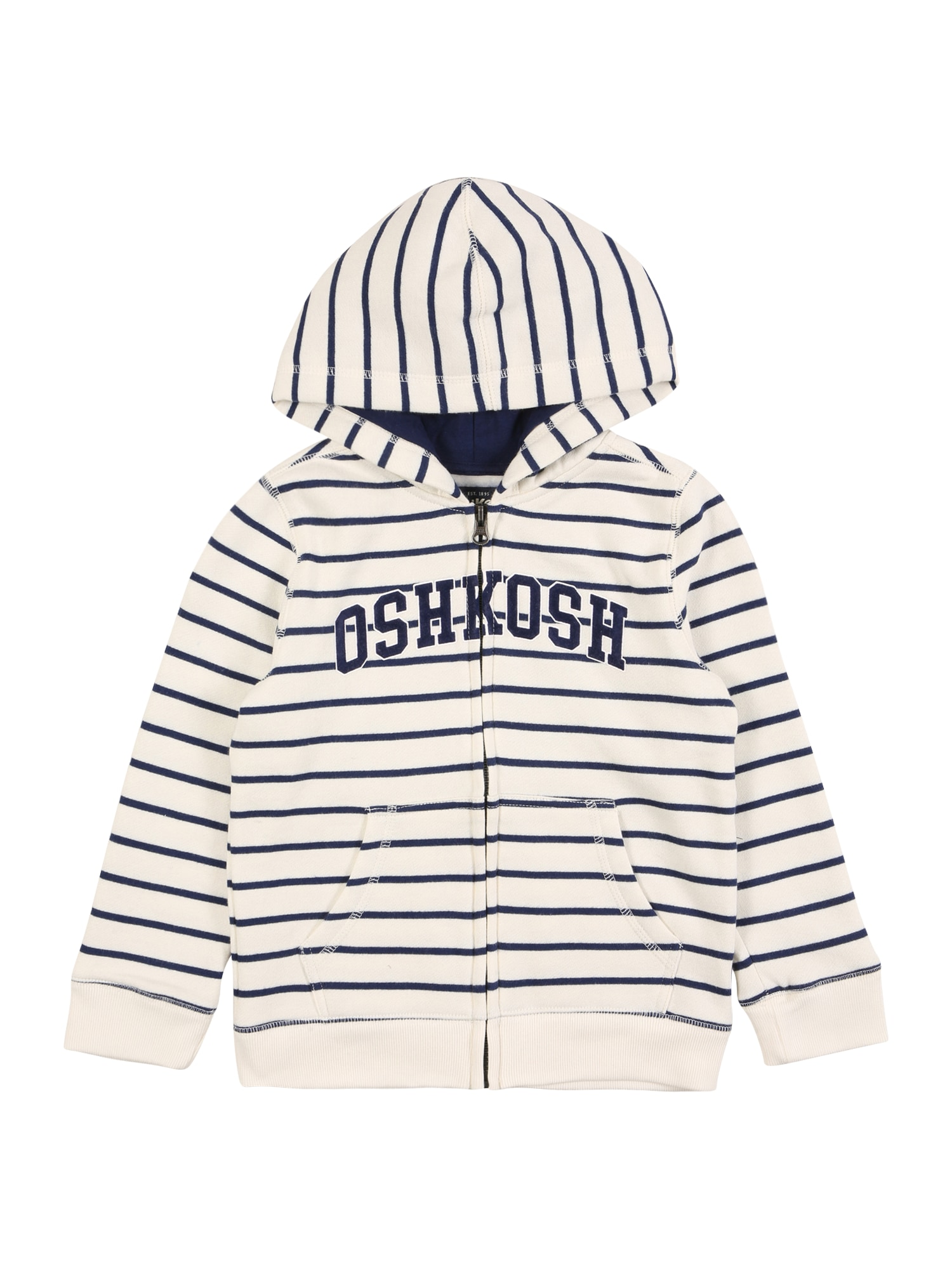 OshKosh Džemperis balta / tamsiai mėlyna