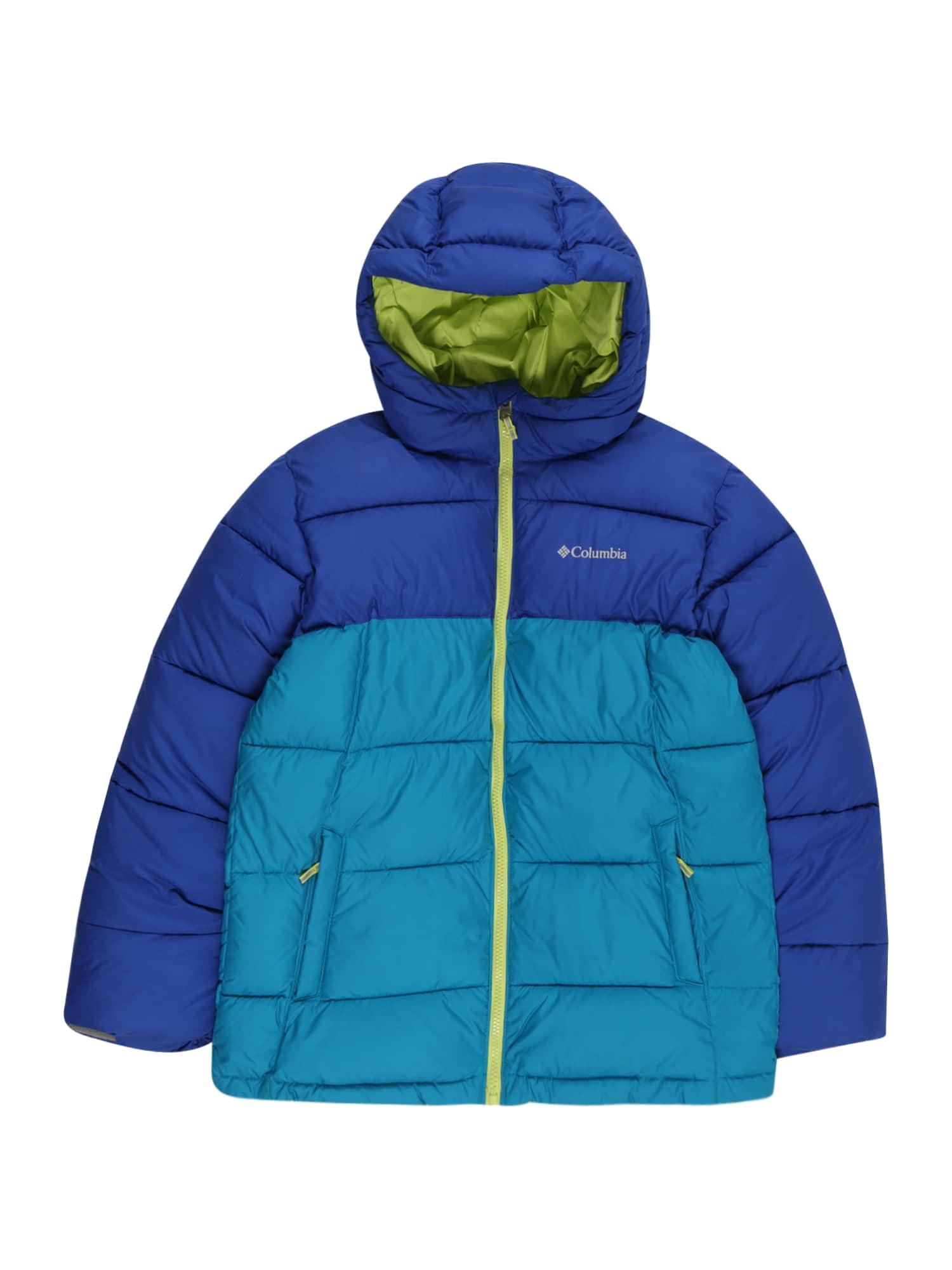 """COLUMBIA Laisvalaikio striukė 'Pike Lake' sodri mėlyna (""""karališka"""") / šviesiai mėlyna / obuolių spalva"""