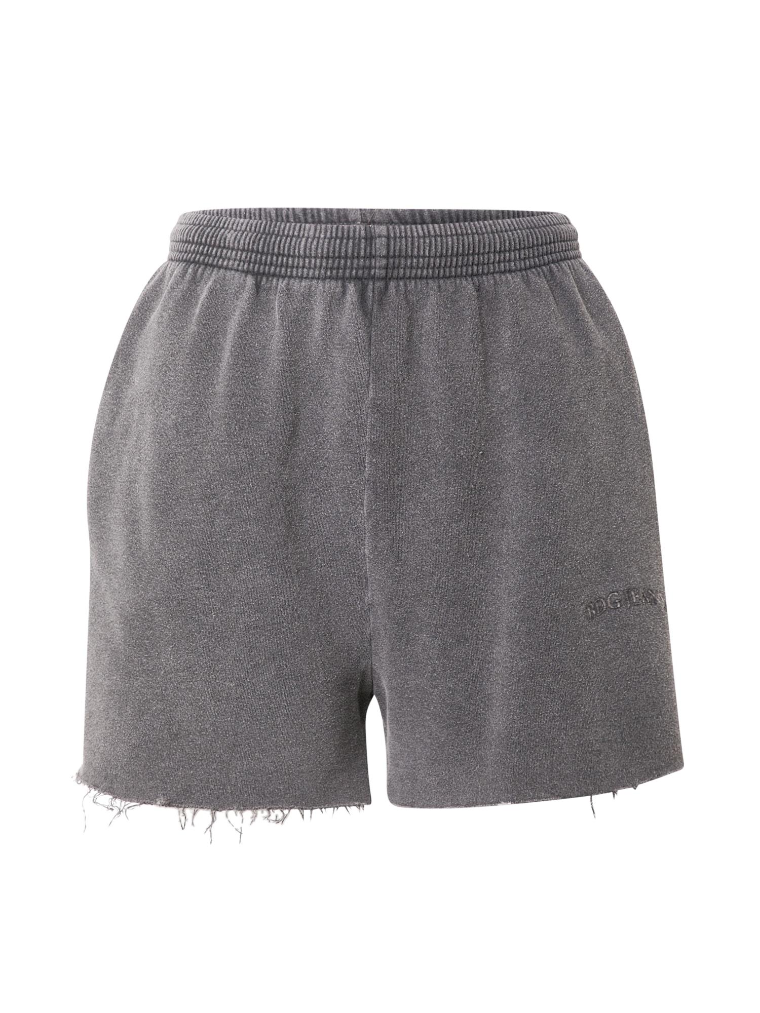 BDG Urban Outfitters Kelnės tamsiai pilka