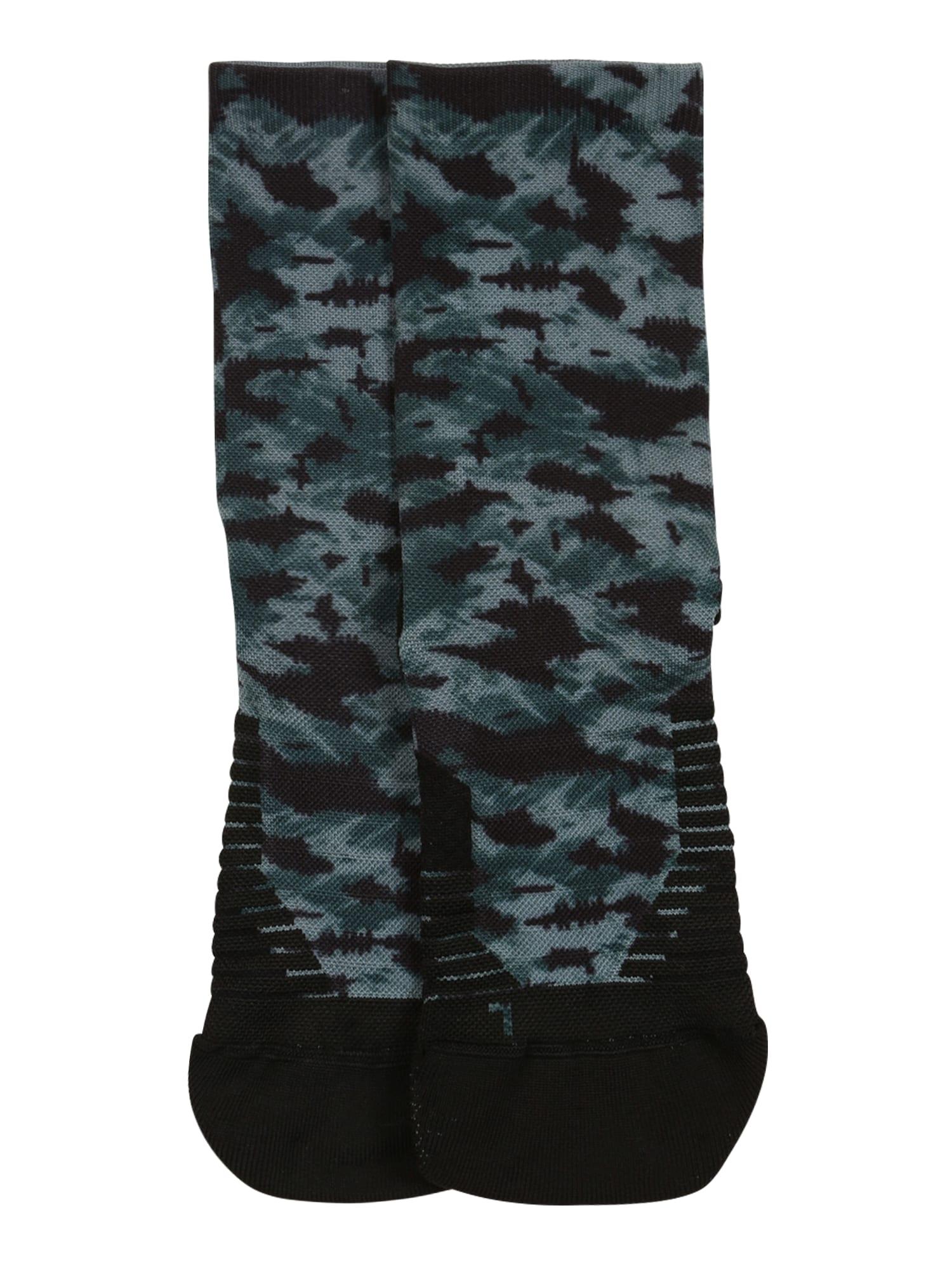 UNDER ARMOUR Sportinės kojinės juoda / žalia