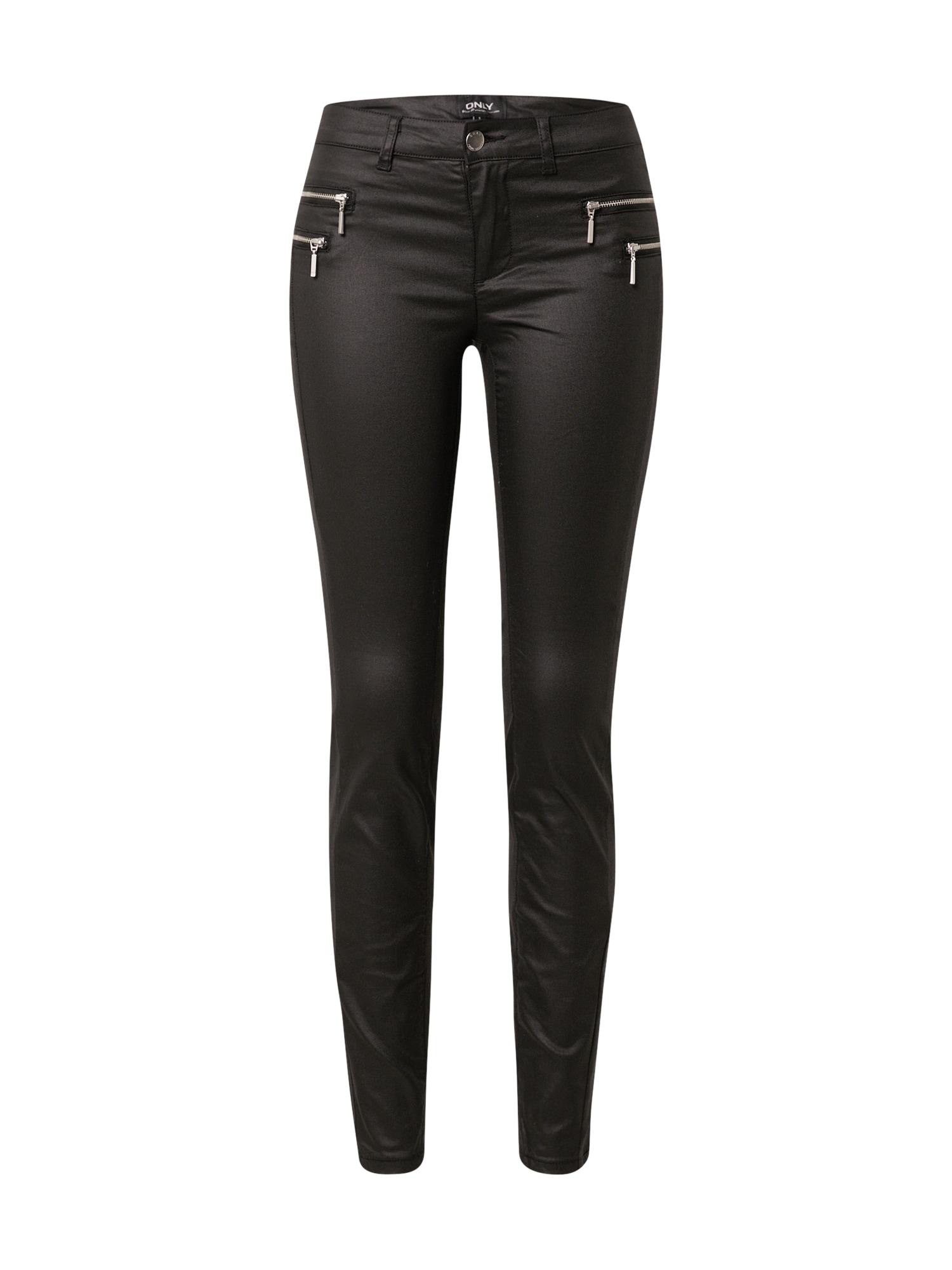 ONLY Kalhoty 'OLIVIA'  černá