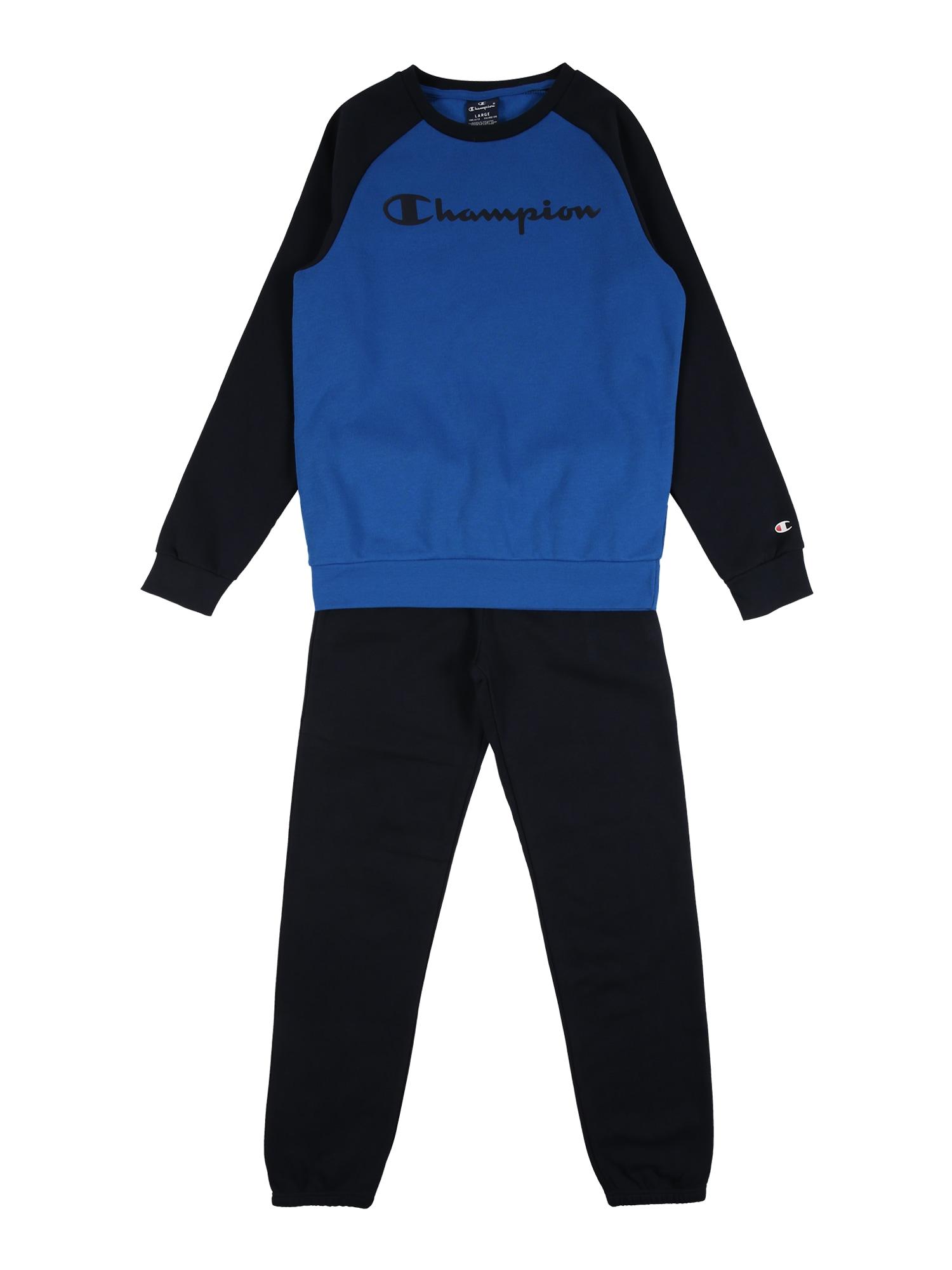 Champion Authentic Athletic Apparel Joggingová souprava  modrá / noční modrá