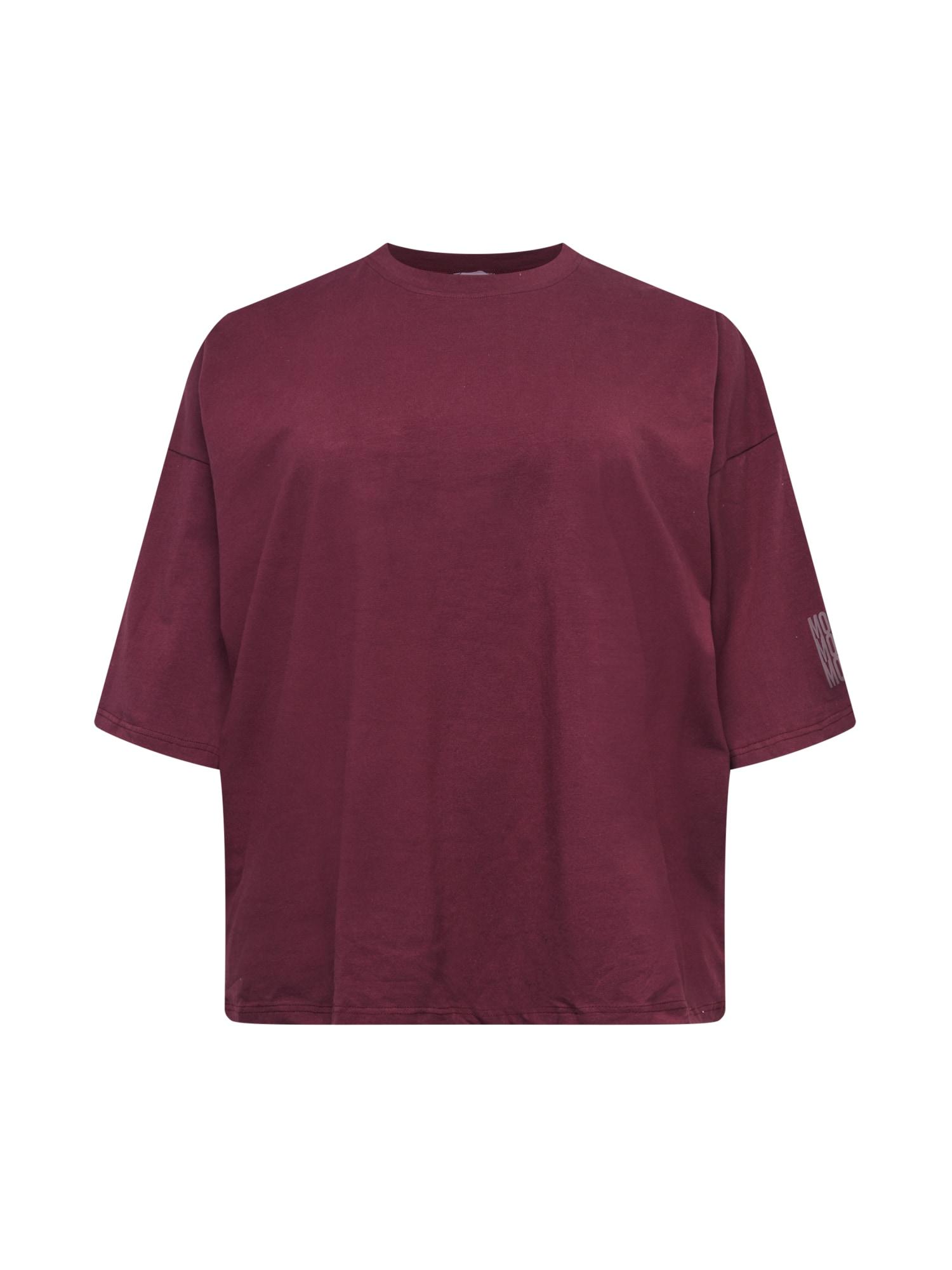 Public Desire Curve Marškinėliai uogų spalva