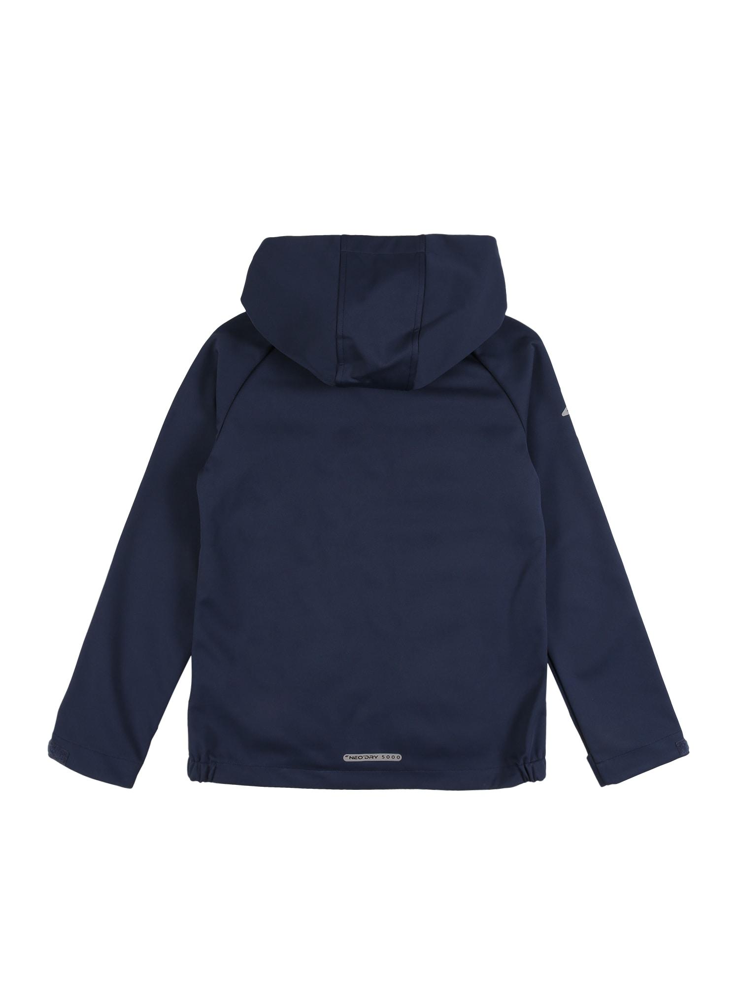 4F Outdoorjacka  gammalrosa / marinblå