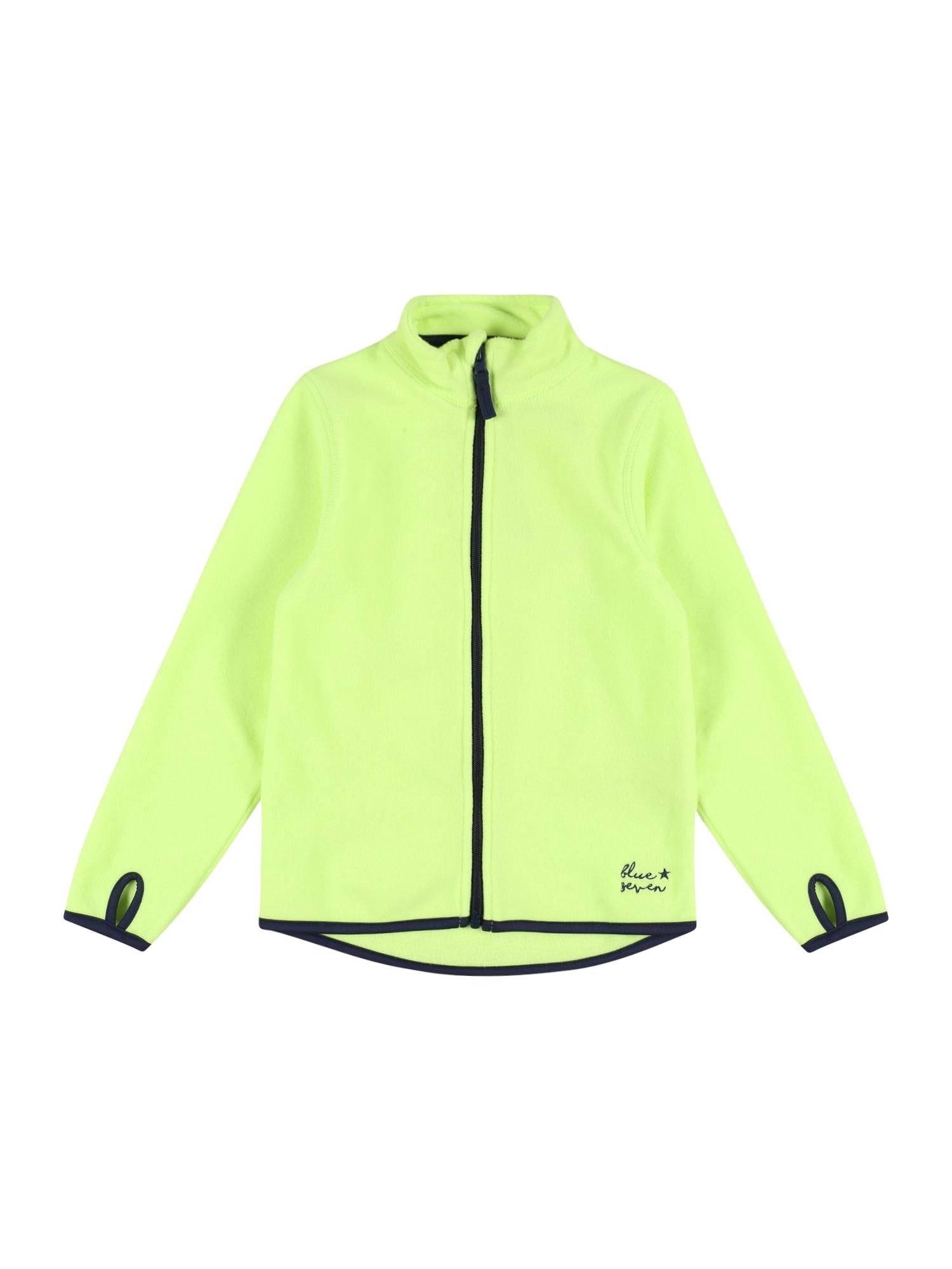 BLUE SEVEN Flisinis džemperis šviesiai žalia