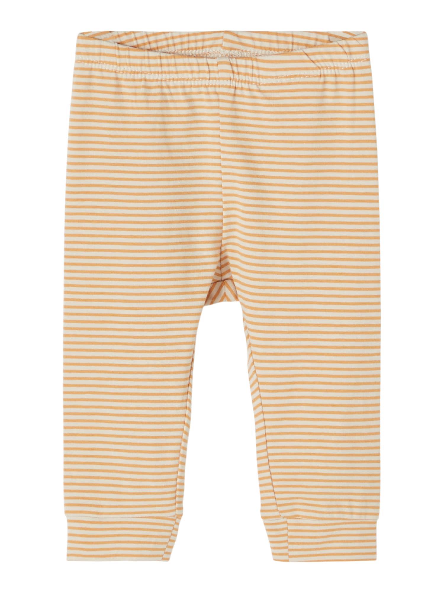 NAME IT Kelnės 'Fipan' aukso geltonumo spalva / šviesiai geltona