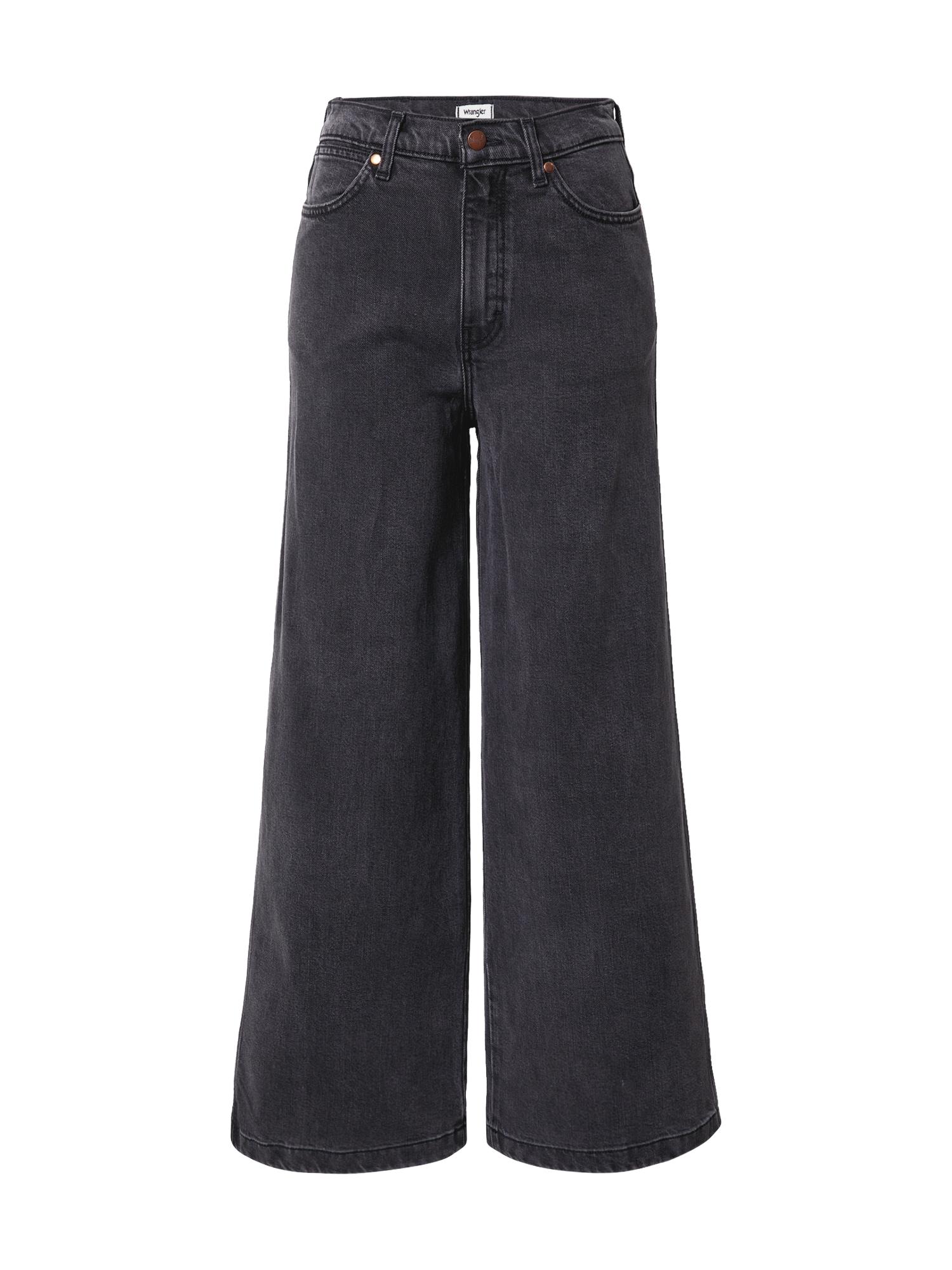 WRANGLER Džinsai 'Worldwide' juodo džinso spalva