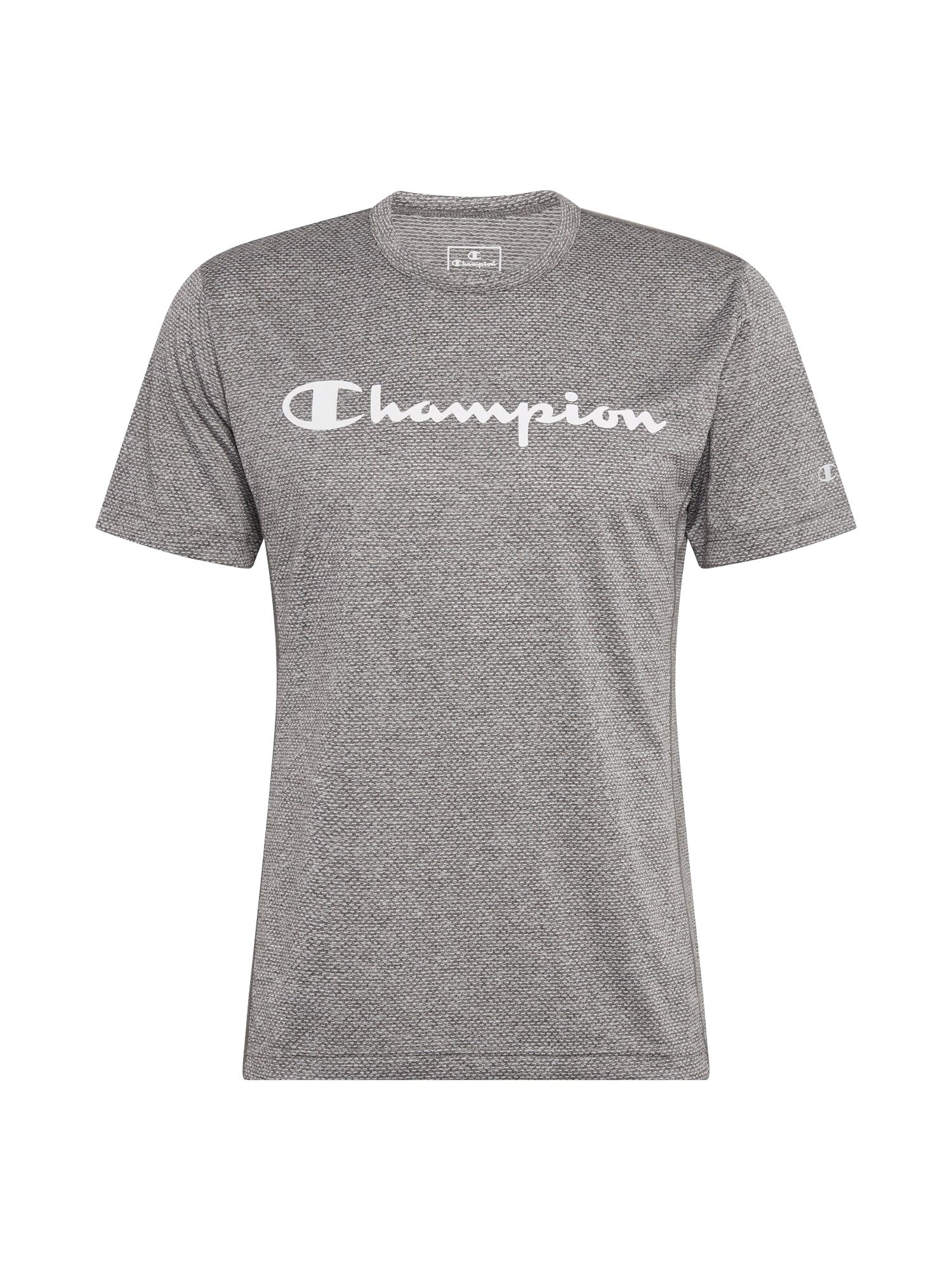 Champion Authentic Athletic Apparel Funkční tričko  šedý melír