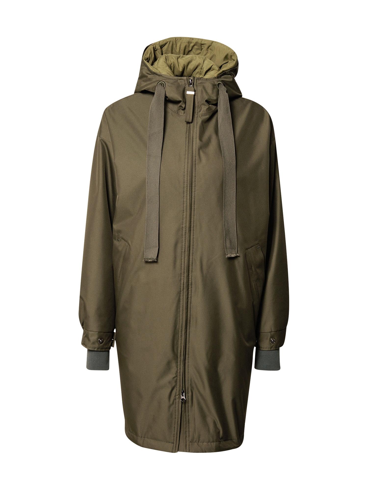 g-lab Rudeninis-žieminis paltas 'Flow' žalia