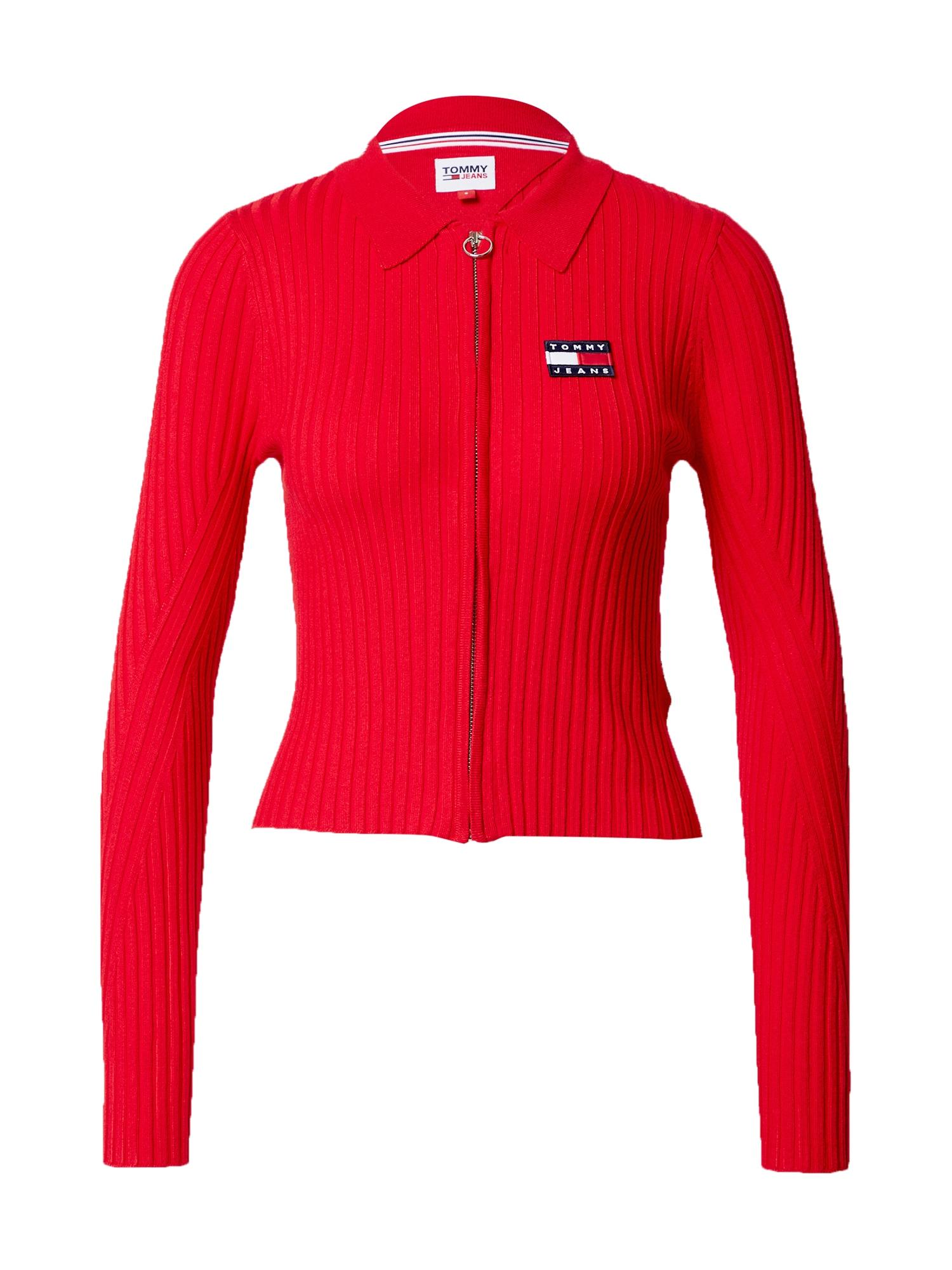 Tommy Jeans Džemperis raudona